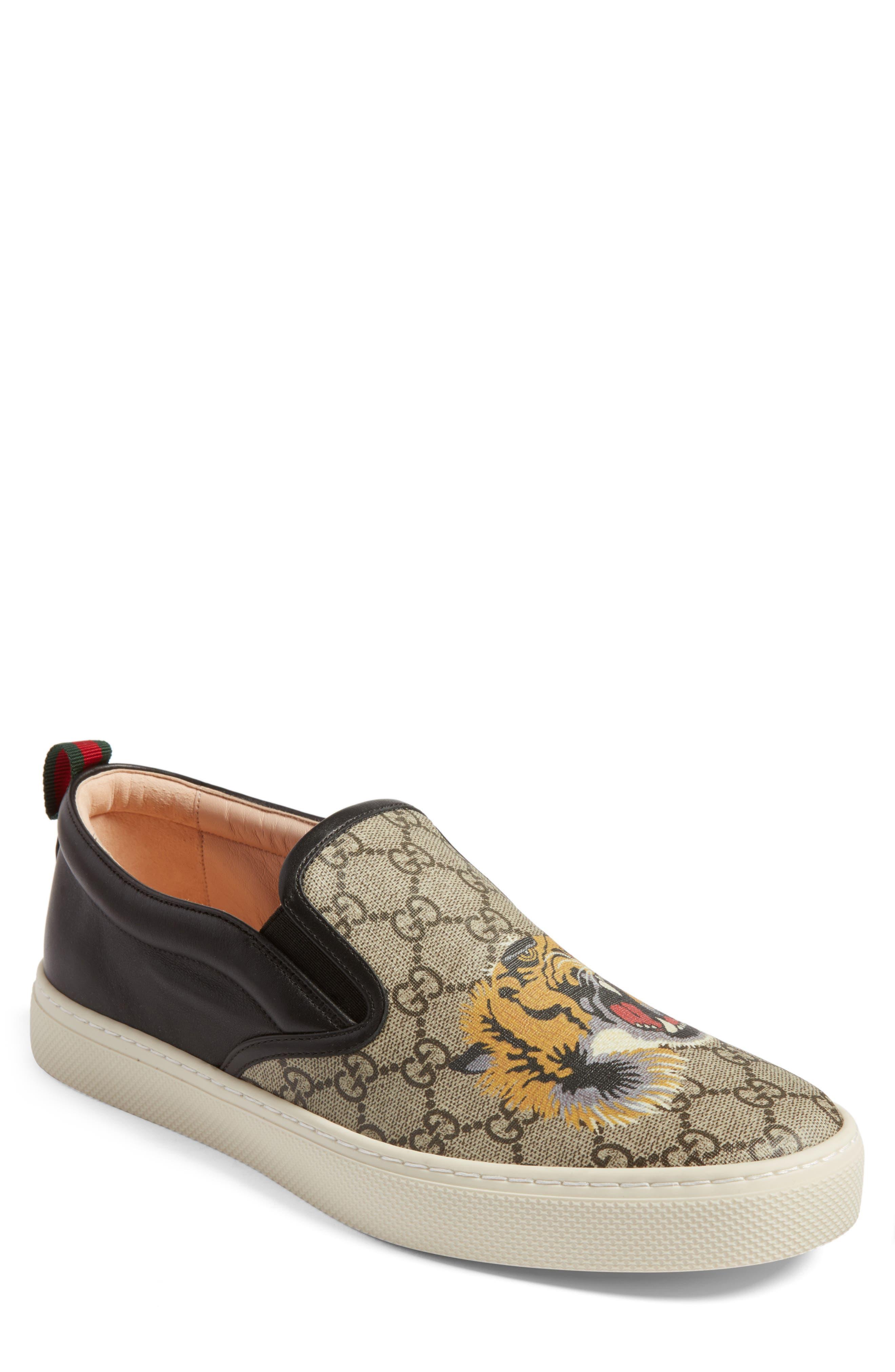 Mens Beige Gucci Shoes