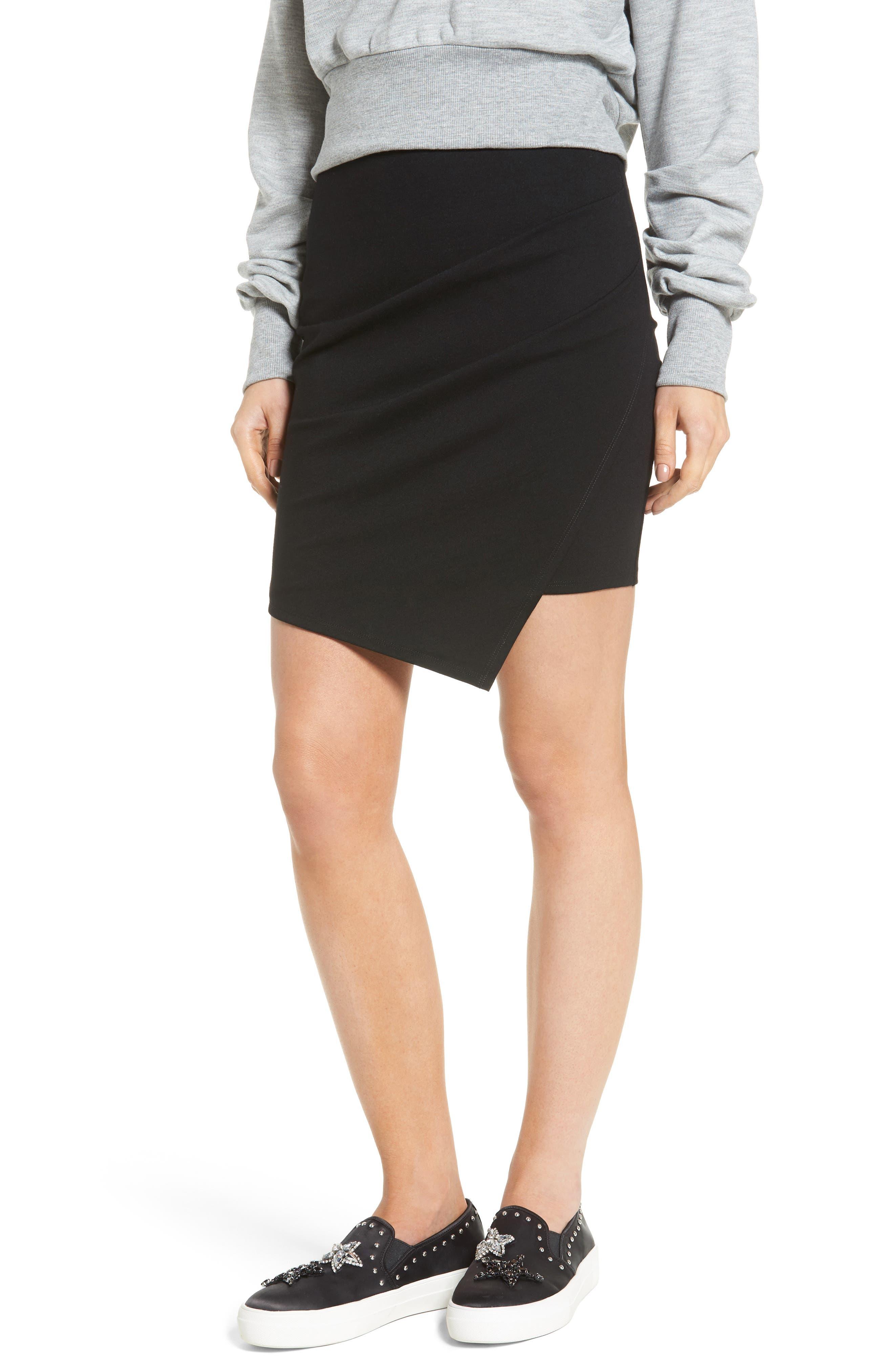 Soprano Cross Front Miniskirt