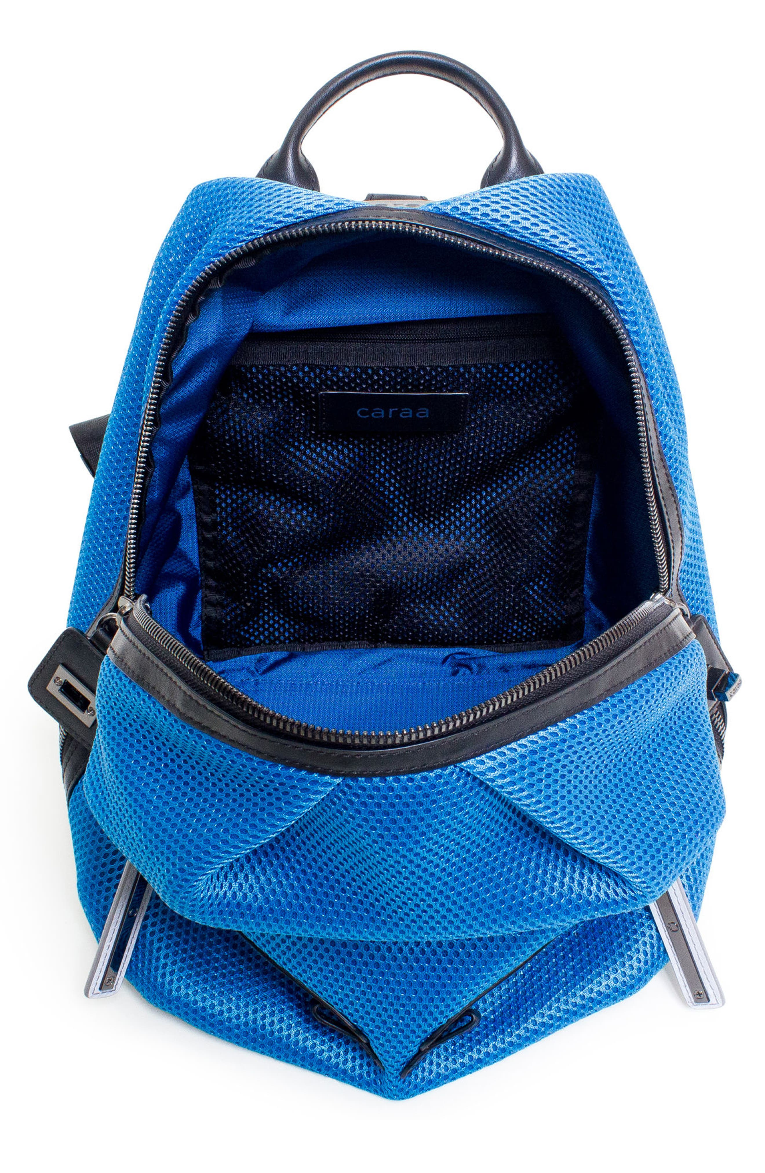 Alternate Image 3  - Caraa Dance 2 Mesh with Leather Trim Backpack