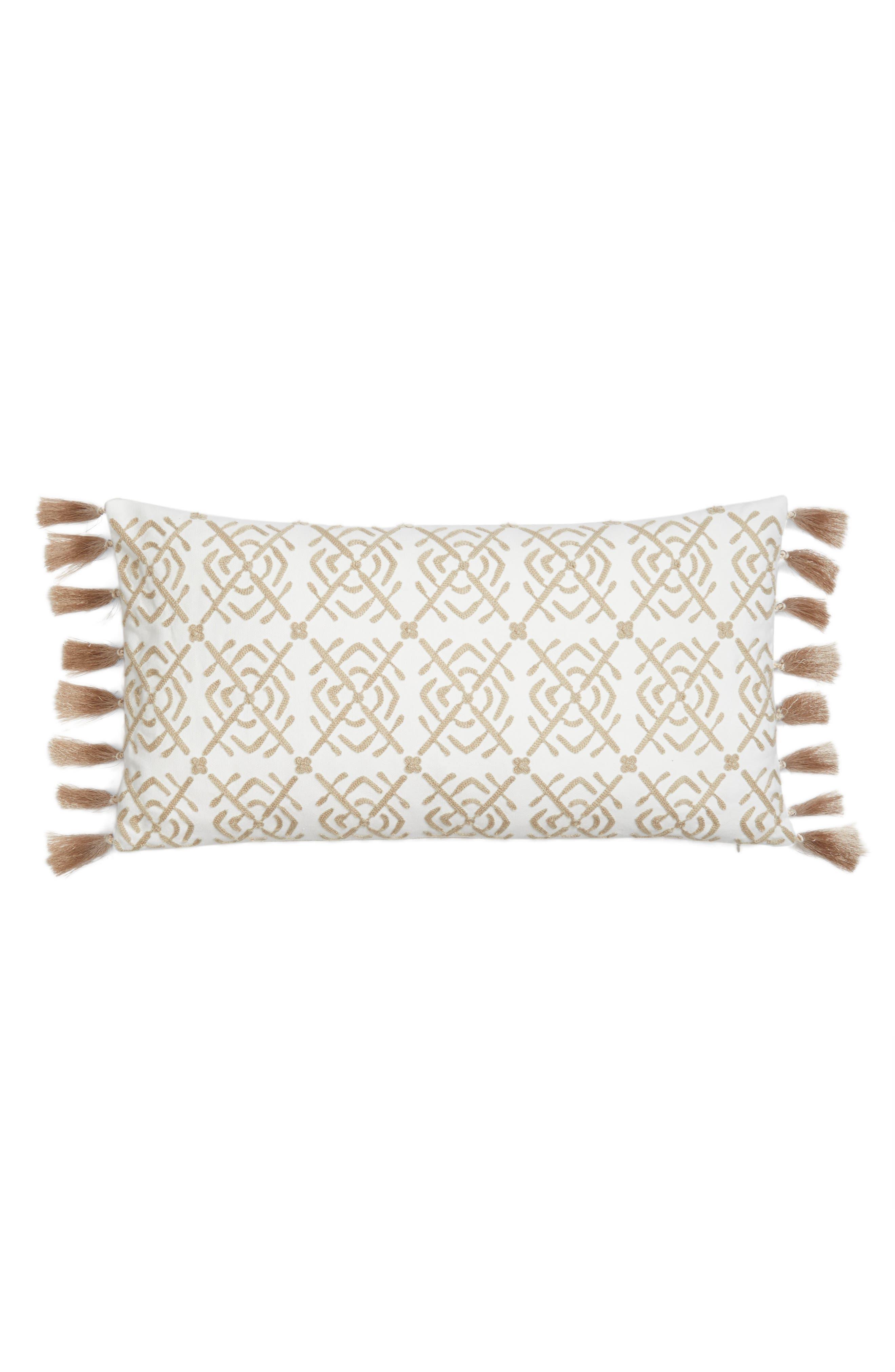 Levtex Tassel Pillow