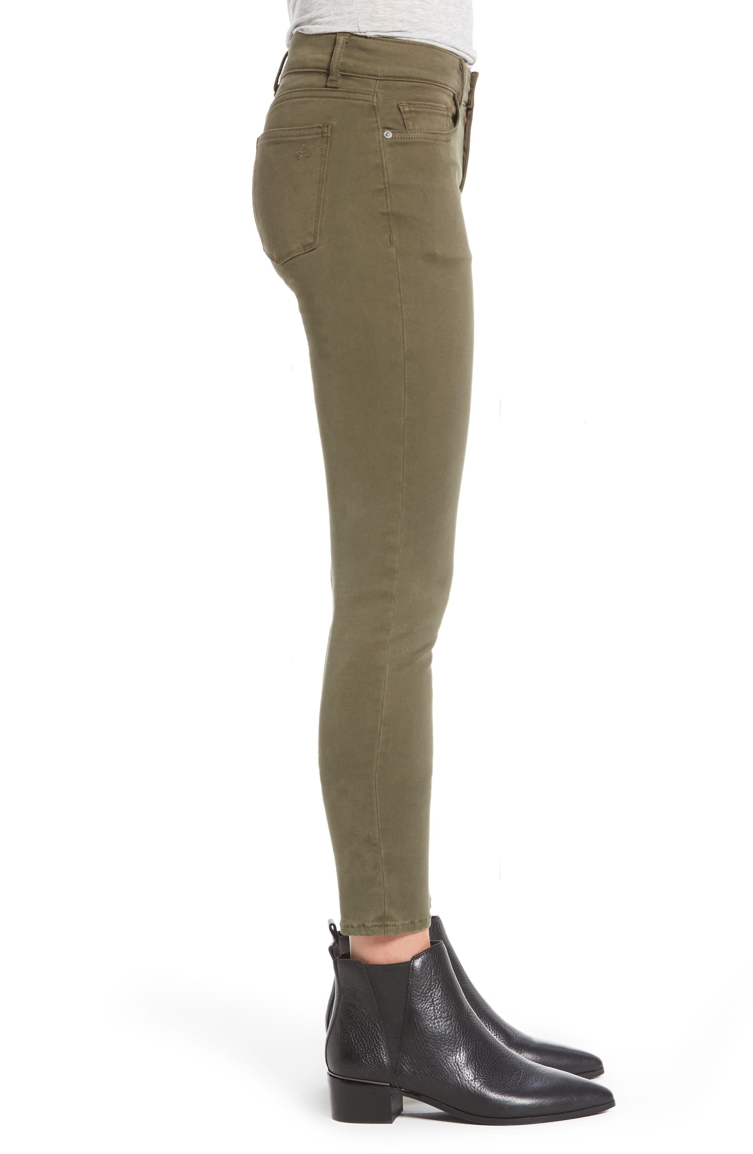 Alternate Image 3  - DL1961 Margaux Instasculpt Ankle Skinny Jeans (Clover)
