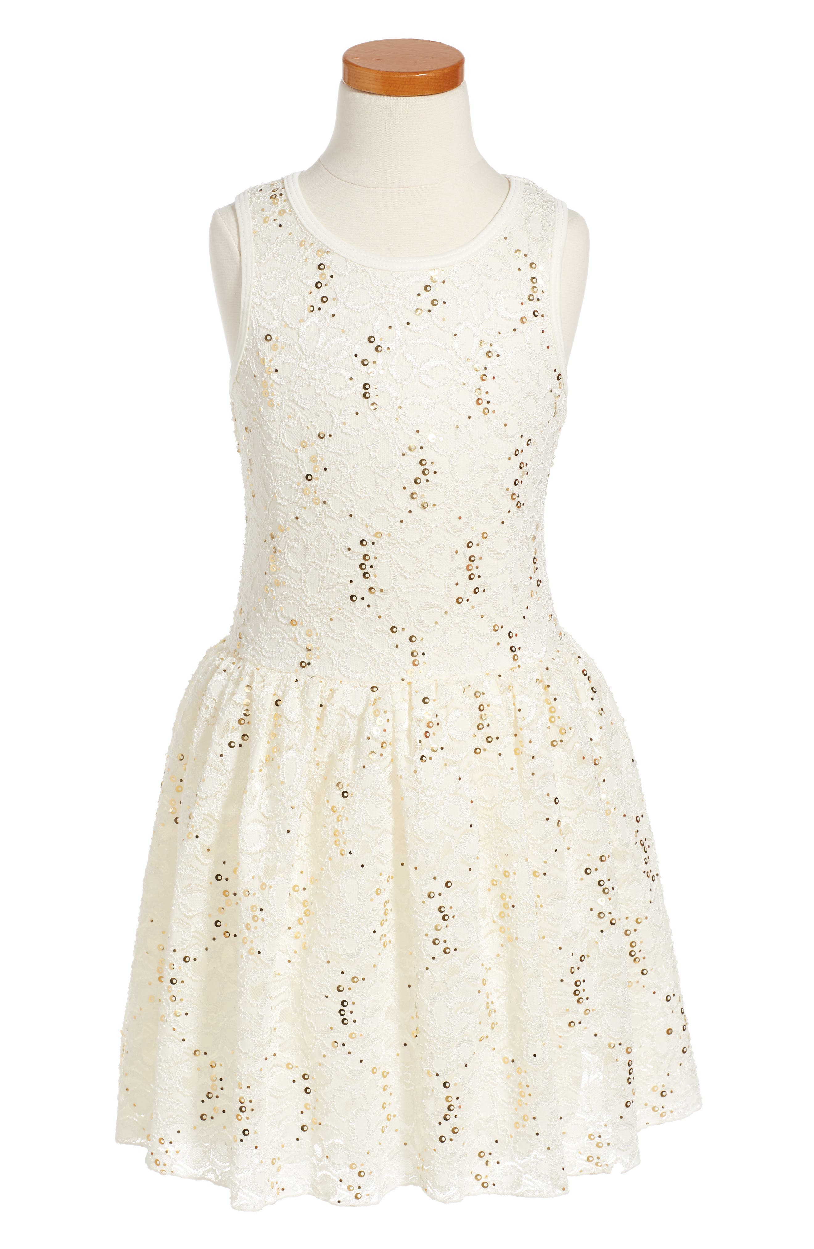 Twirls & Twigs Lace Sequin Dress Toddler Girls Little