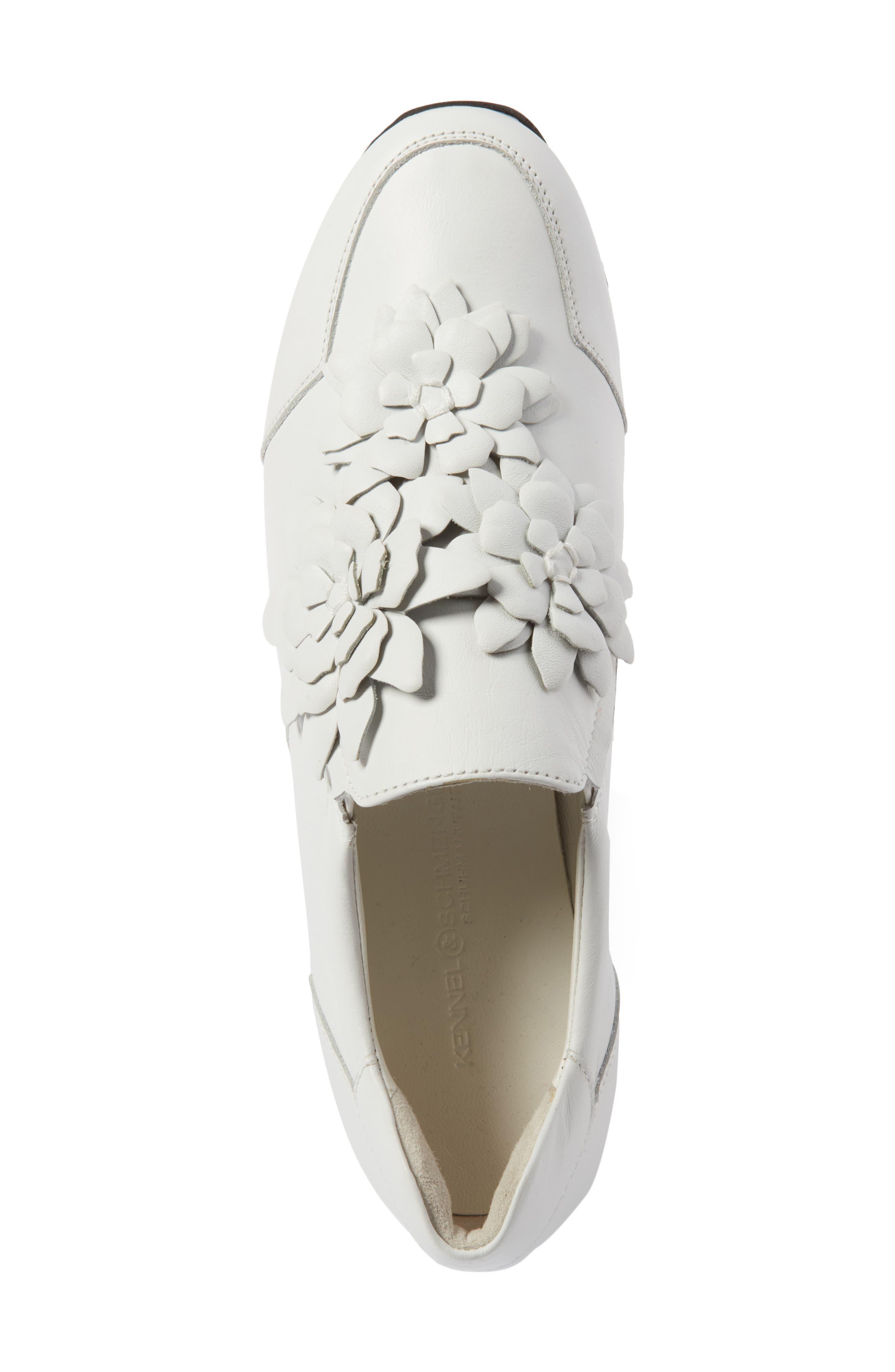 Alternate Image 5  - Kennel & Schmenger Tiger Flower Sneaker (Women)