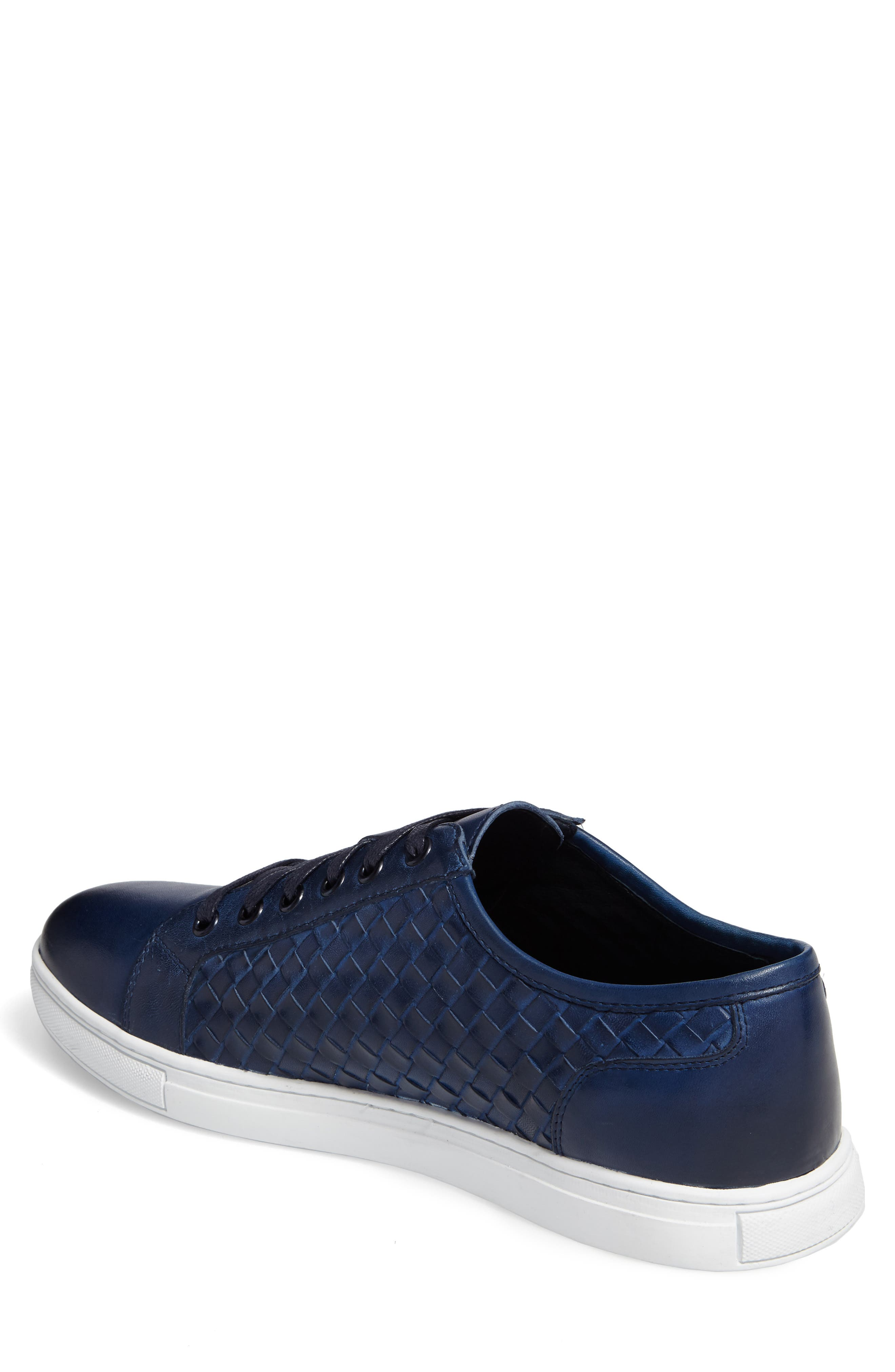 Fader Sneaker,                             Alternate thumbnail 2, color,                             Blue Leather