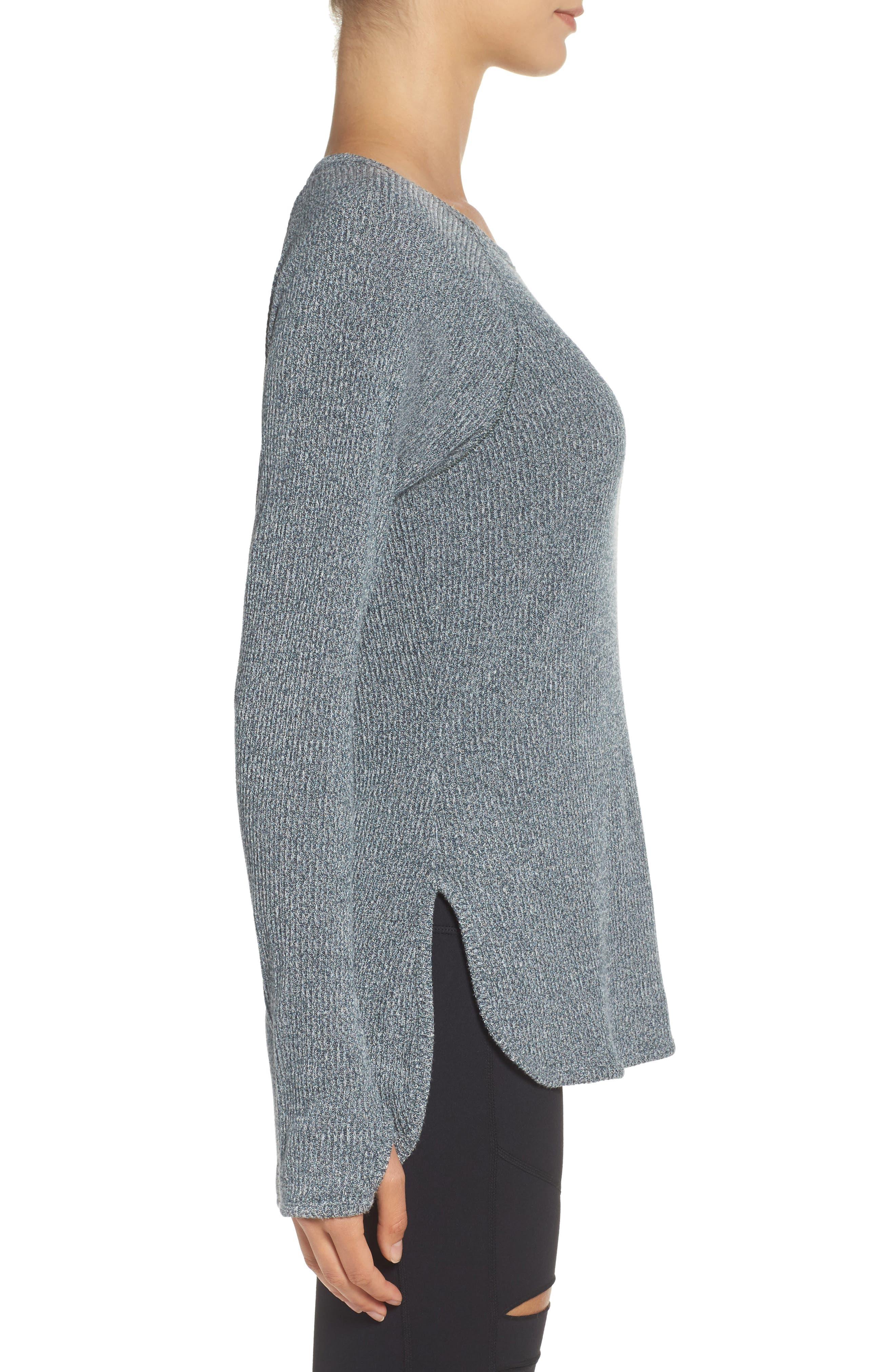 Alternate Image 3  - Zella Don't Sweat It Sweater