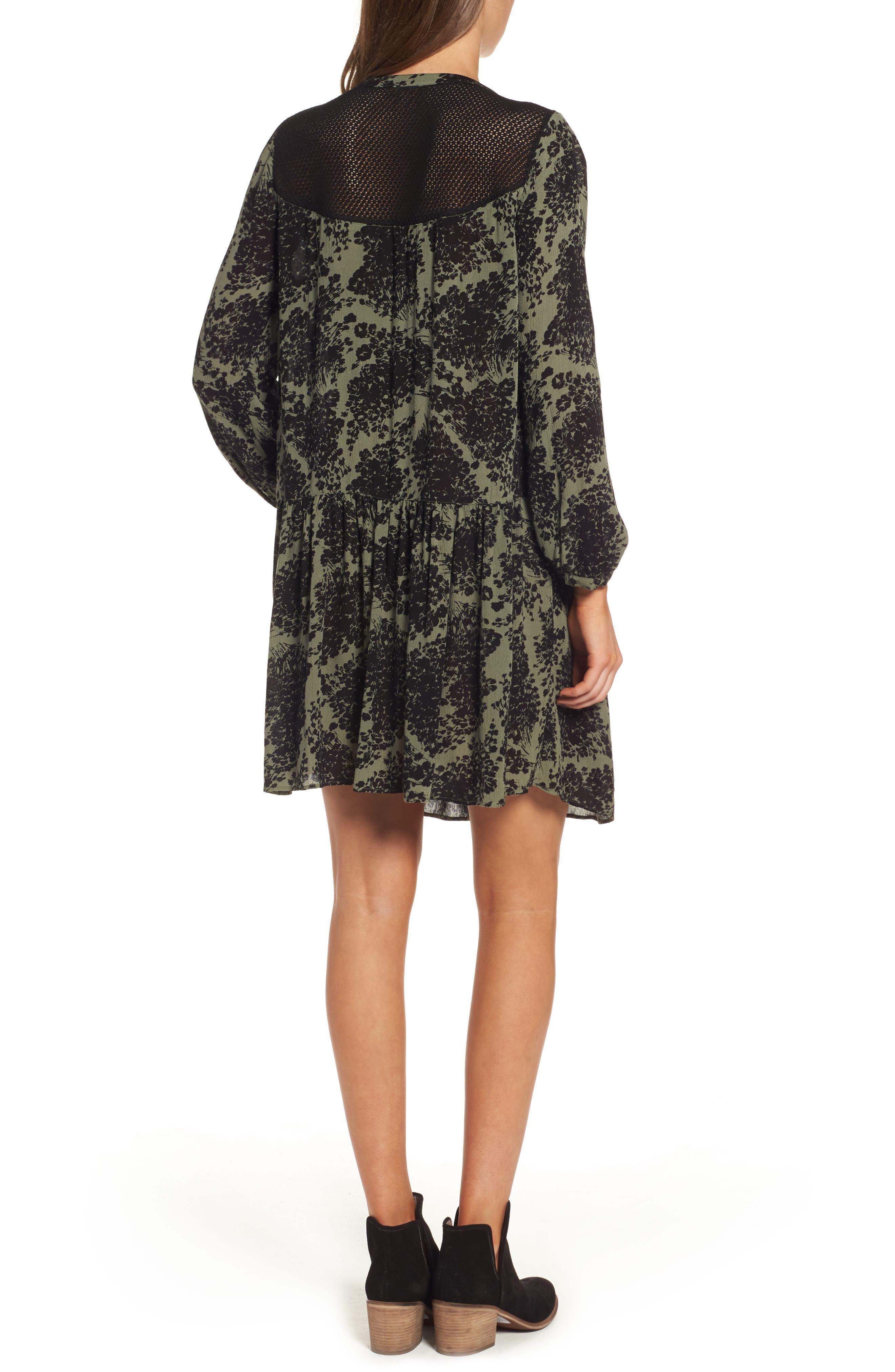 Alternate Image 2  - Hinge Button Front Dress