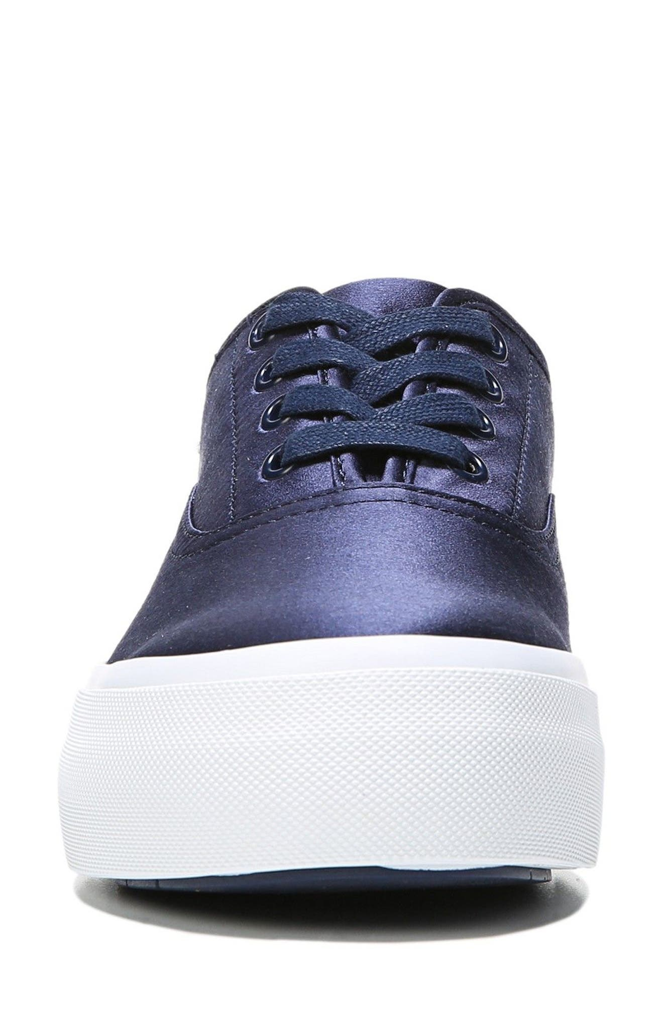 Copley Platform Sneaker,                             Alternate thumbnail 4, color,                             Navy