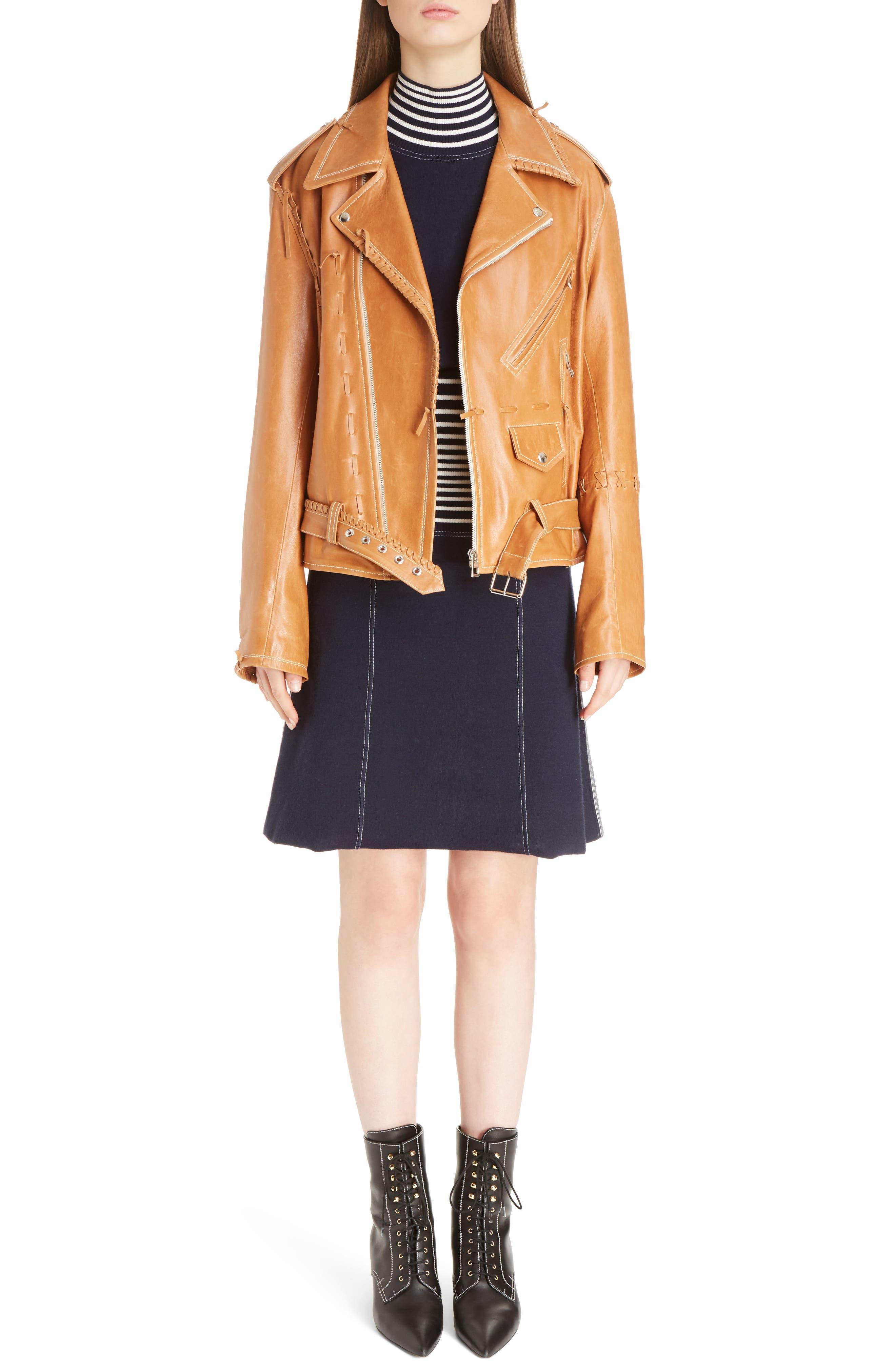 Alternate Image 6  - Loewe Stripe Knit Skirt