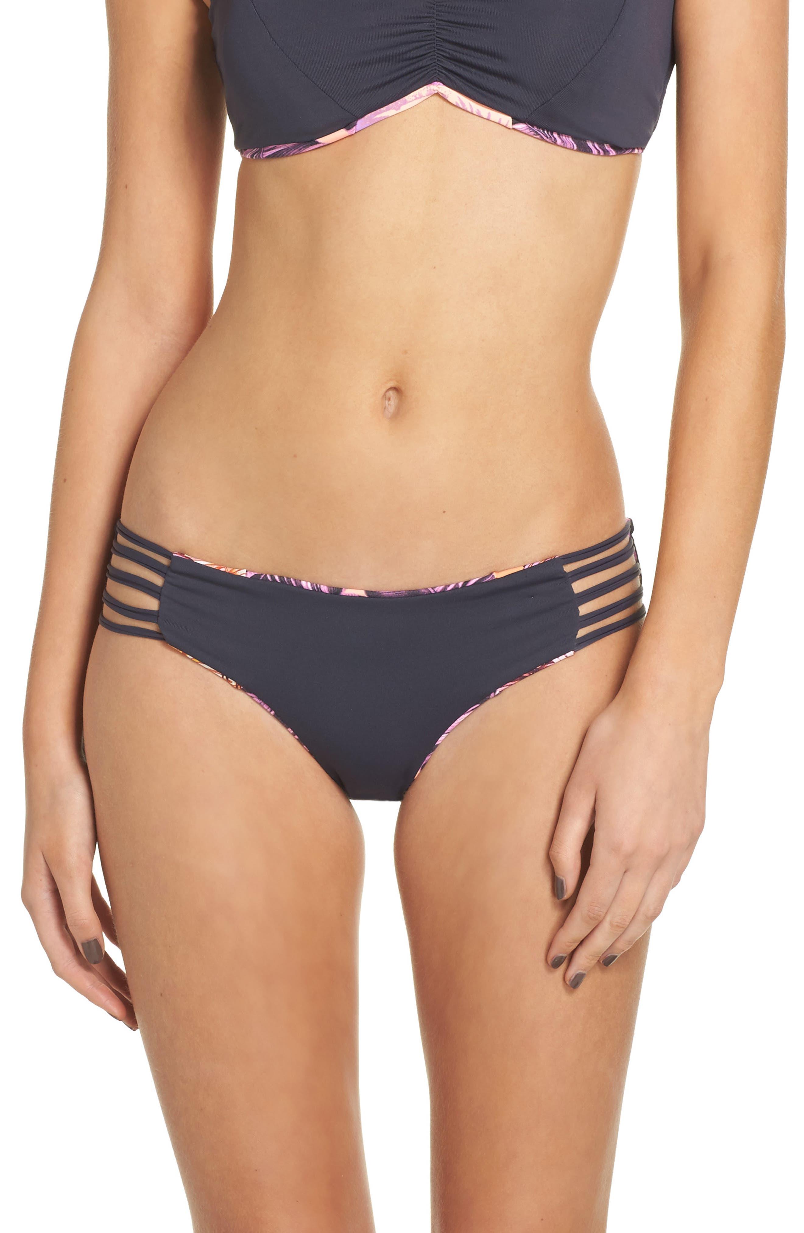Alternate Image 2  - Maaji Pink Sunset Reversible Bikini Bottoms