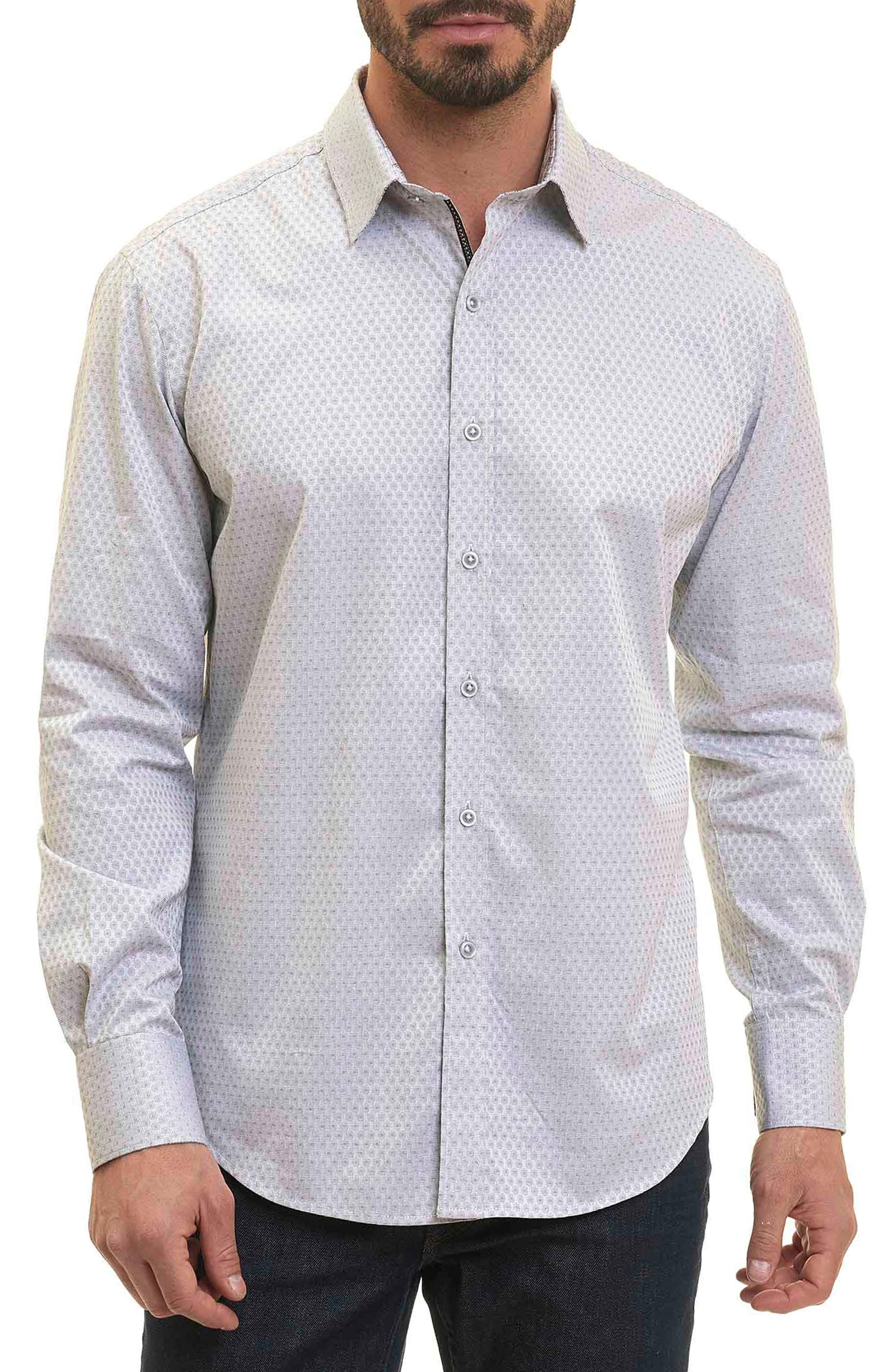Alternate Image 1 Selected - Robert Graham Classic Fit Print Sport Shirt