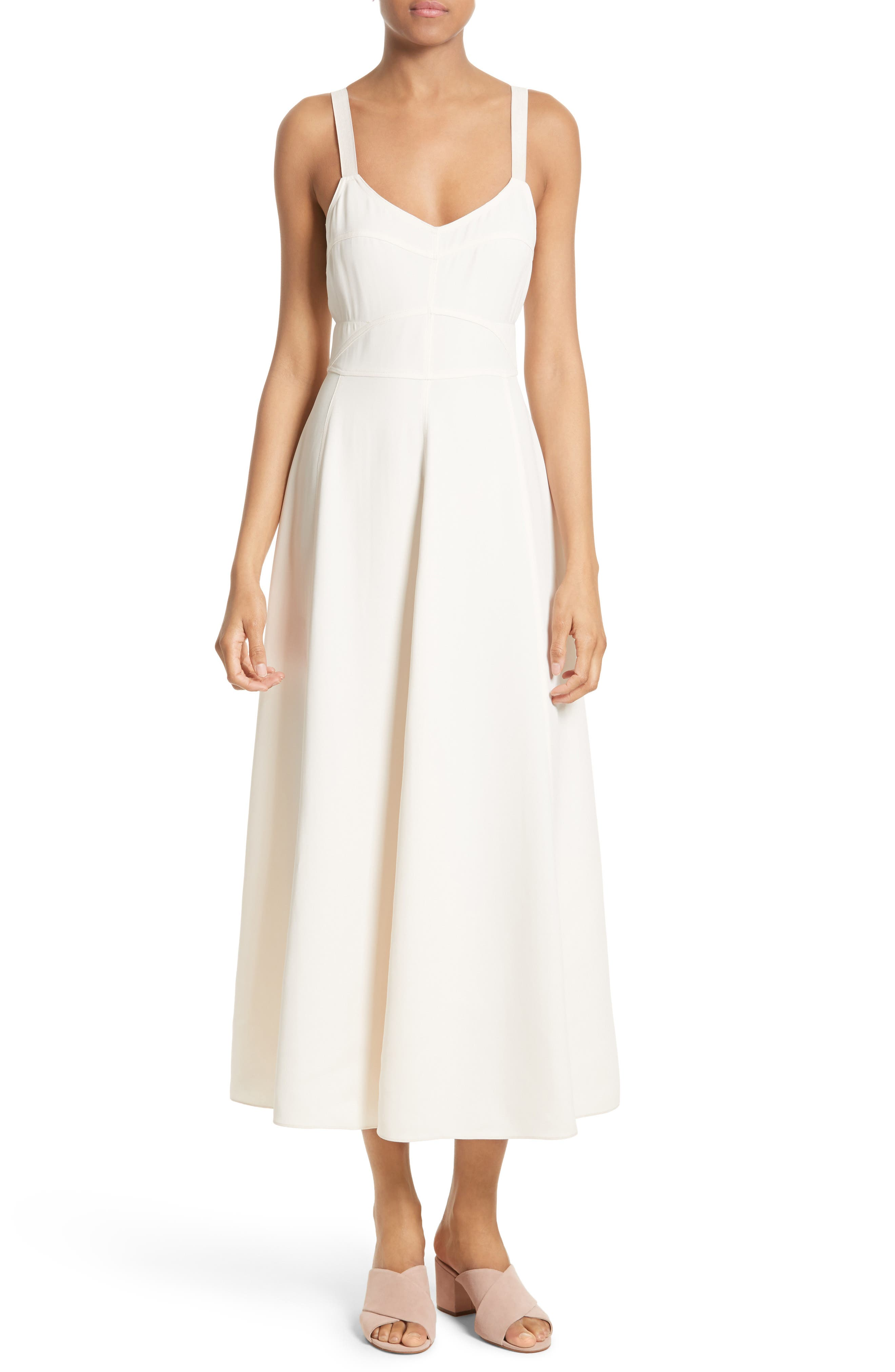Elizabeth and James Cynthia Fit & Flare Midi Dress