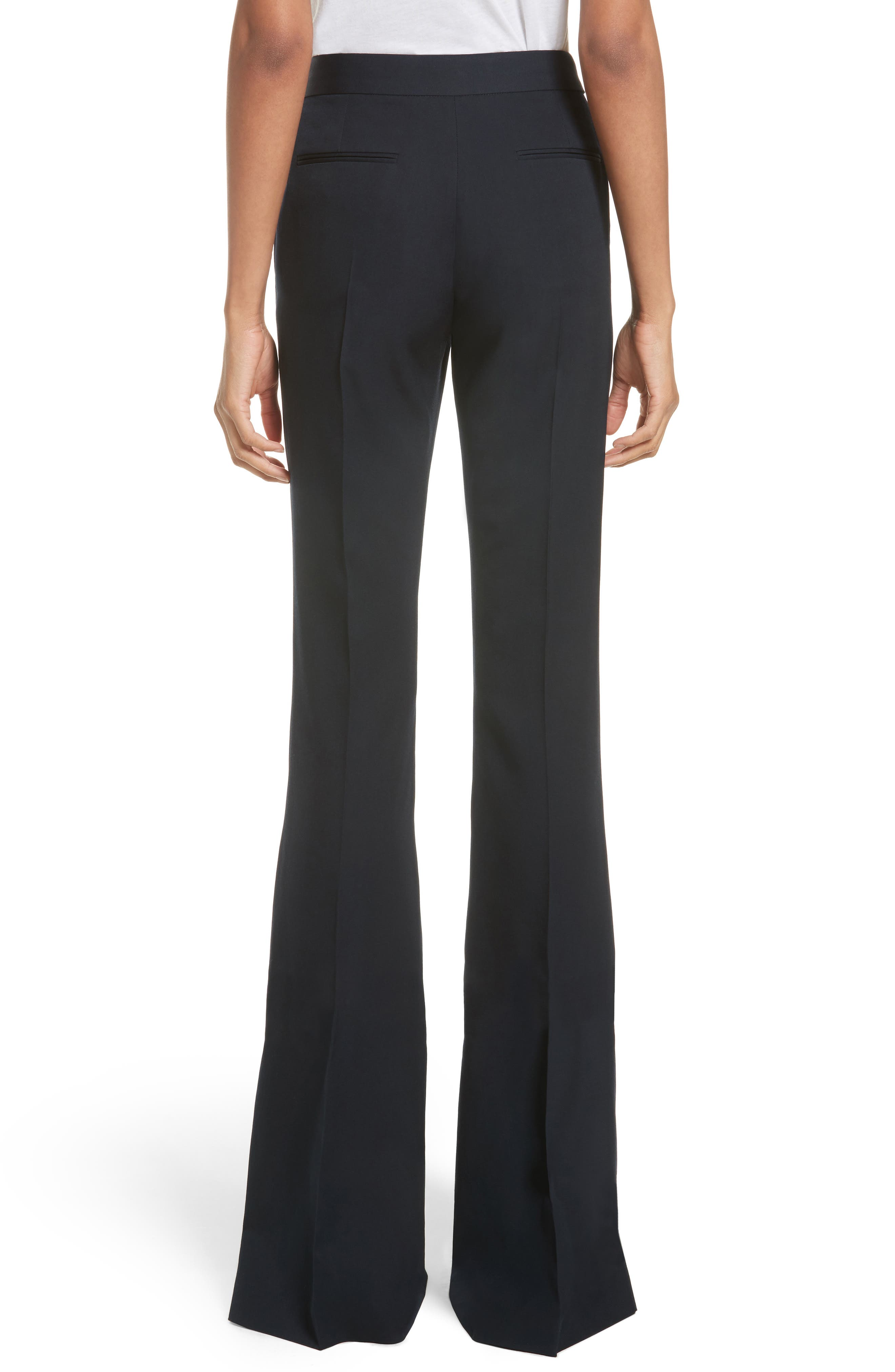Alternate Image 2  - Stella McCartney Split Hem Flare Trousers