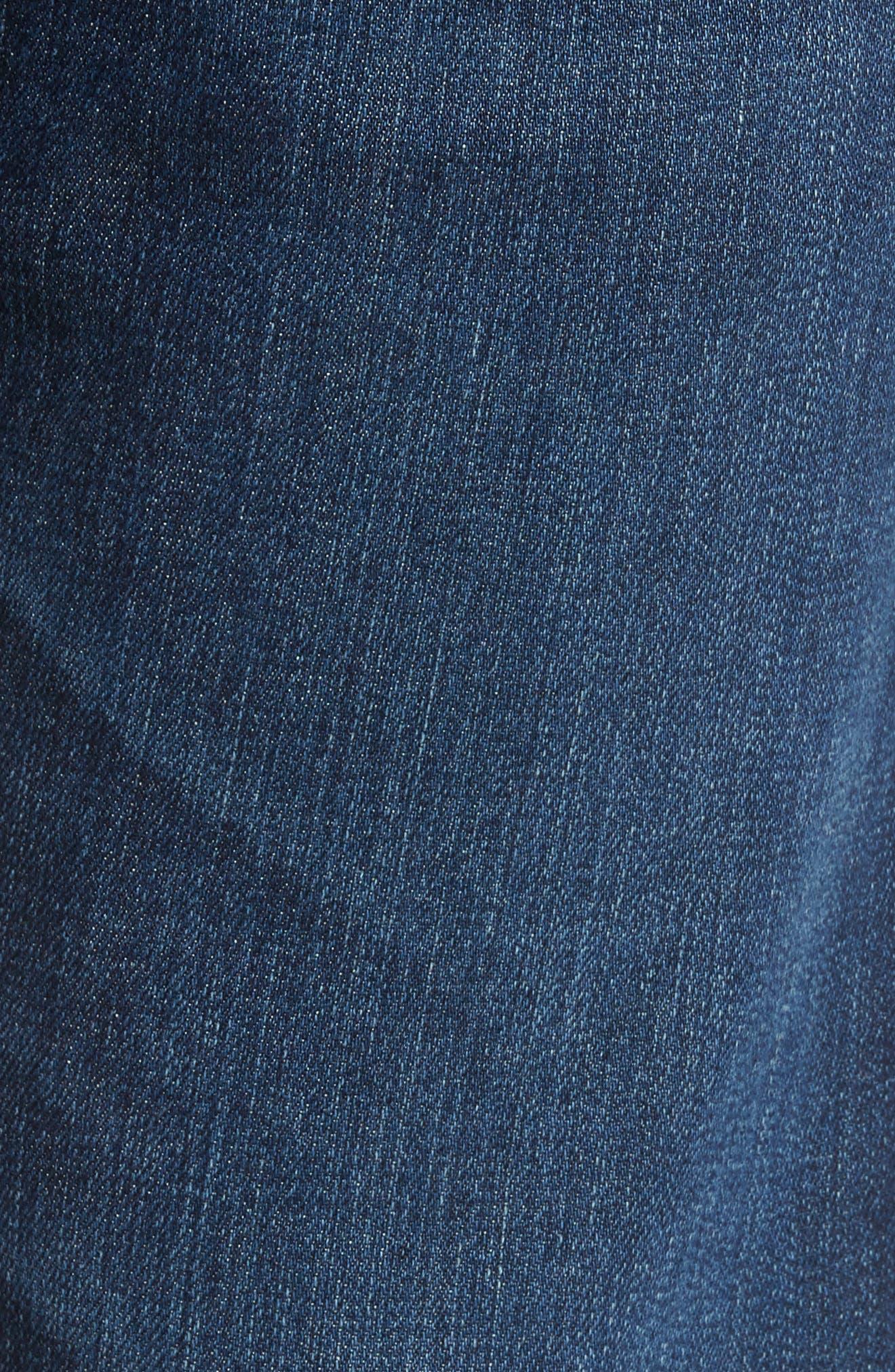 Alternate Image 5  - AG Ives Straight Leg Jeans (Brackett)
