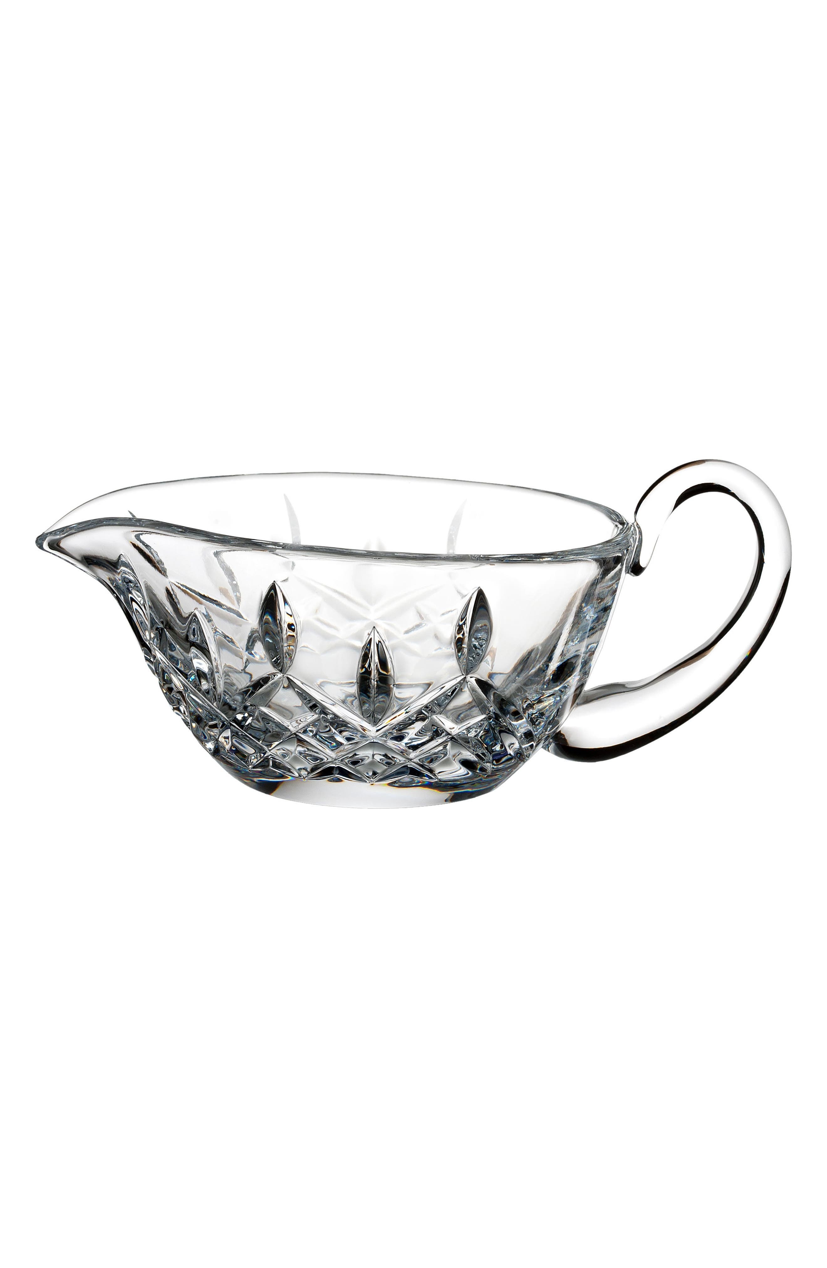 Lismore Lead Crystal Gravy Server,                         Main,                         color, Crystal