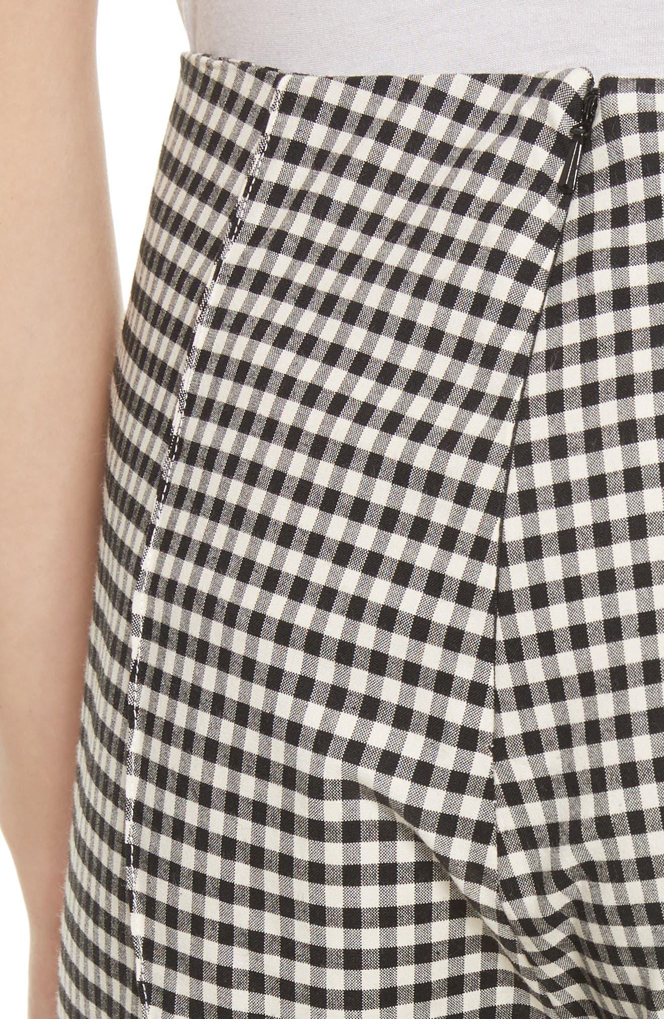 Alternate Image 4  - Veronica Beard Tee High Waisted Seam Trousers