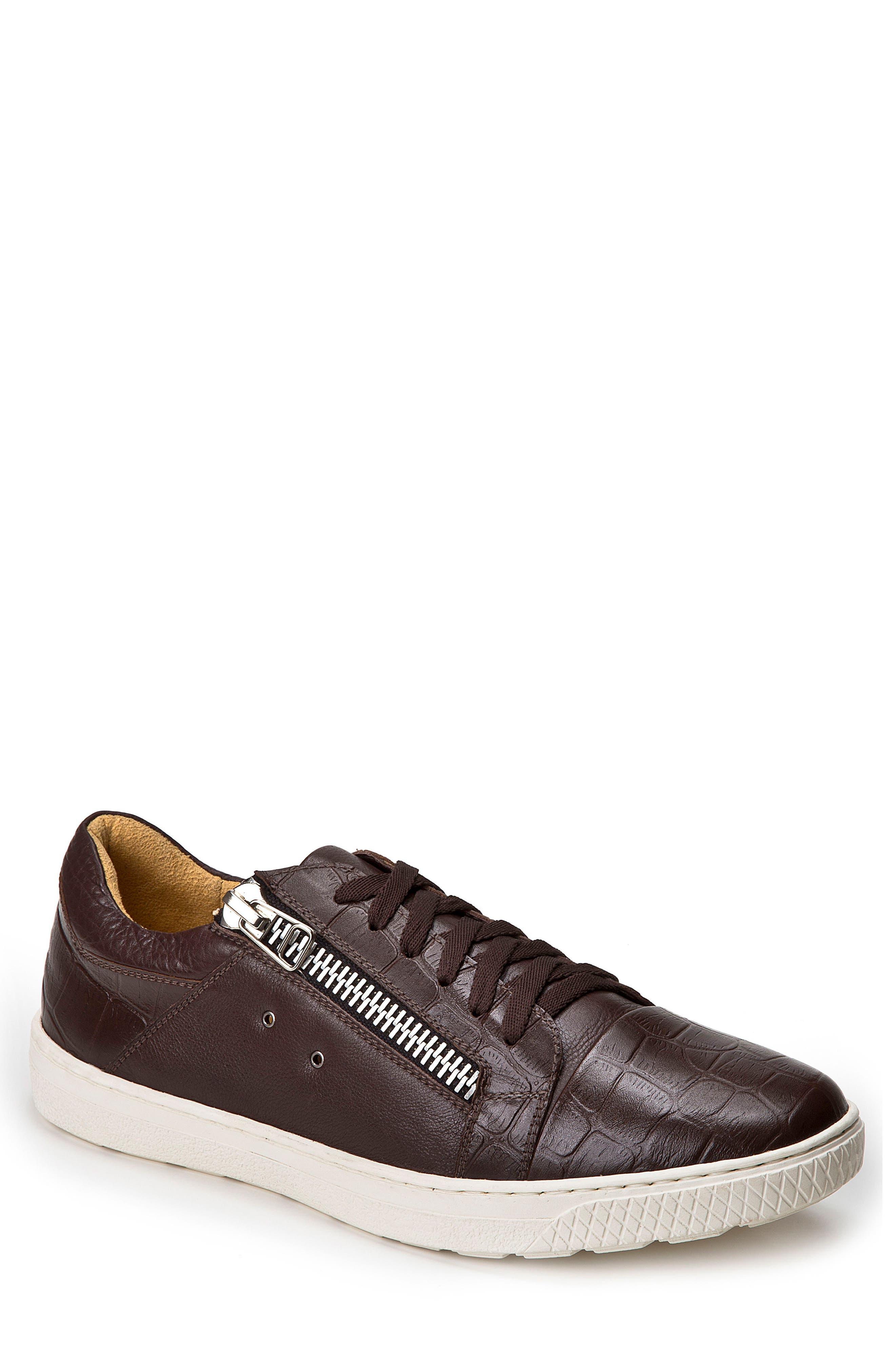 Alternate Image 1 Selected - Sandro Moscoloni Cassius Side Zip Sneaker (Men)