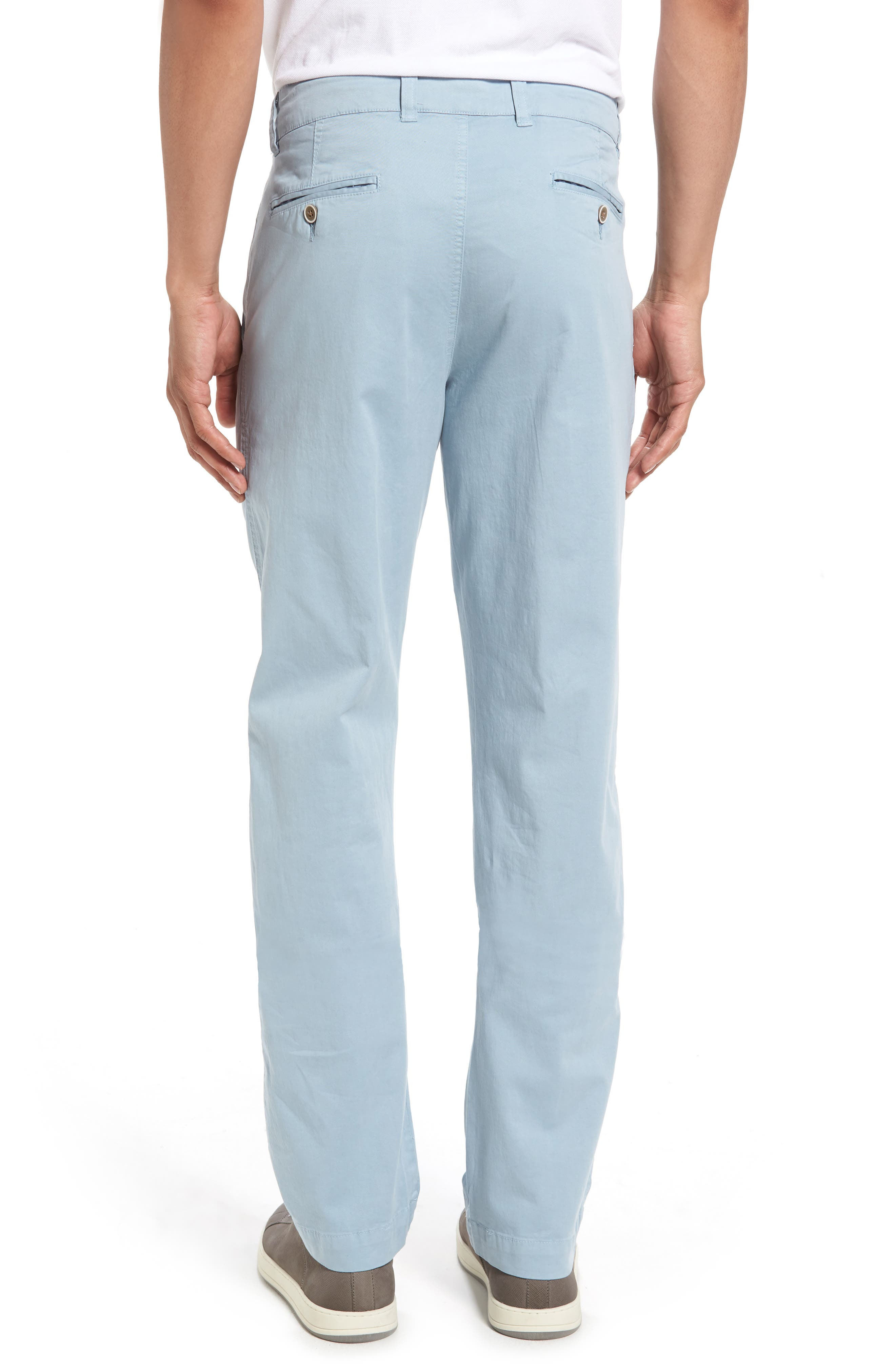 Sunny Modern Fit Stretch Twill Chinos,                             Alternate thumbnail 2, color,                             Citadel Blue