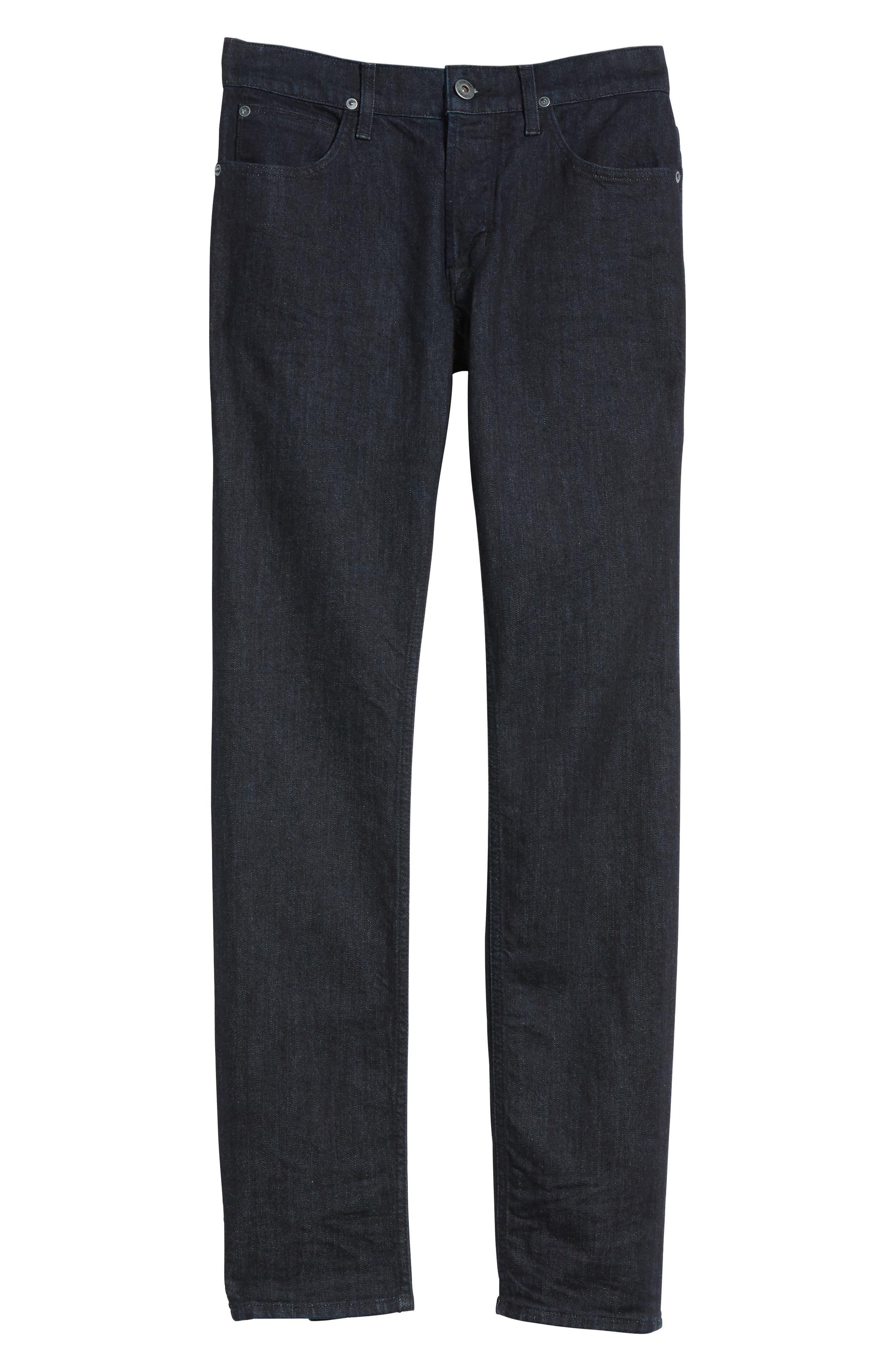 Alternate Image 6  - Hudson Jeans Axl Skinny Fit Jeans (Firestone)