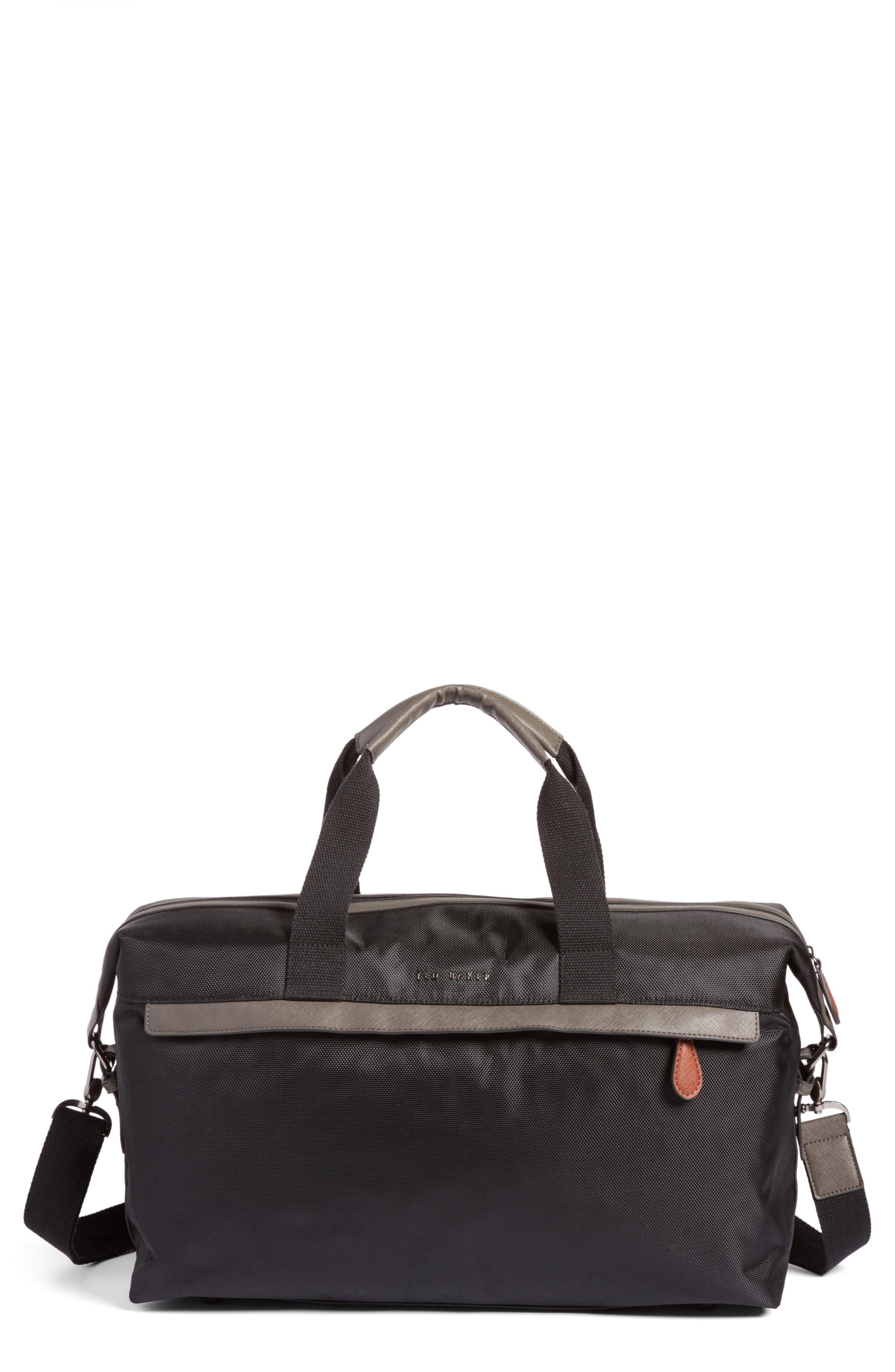 Zeebee Duffel Bag,                             Main thumbnail 1, color,                             Black