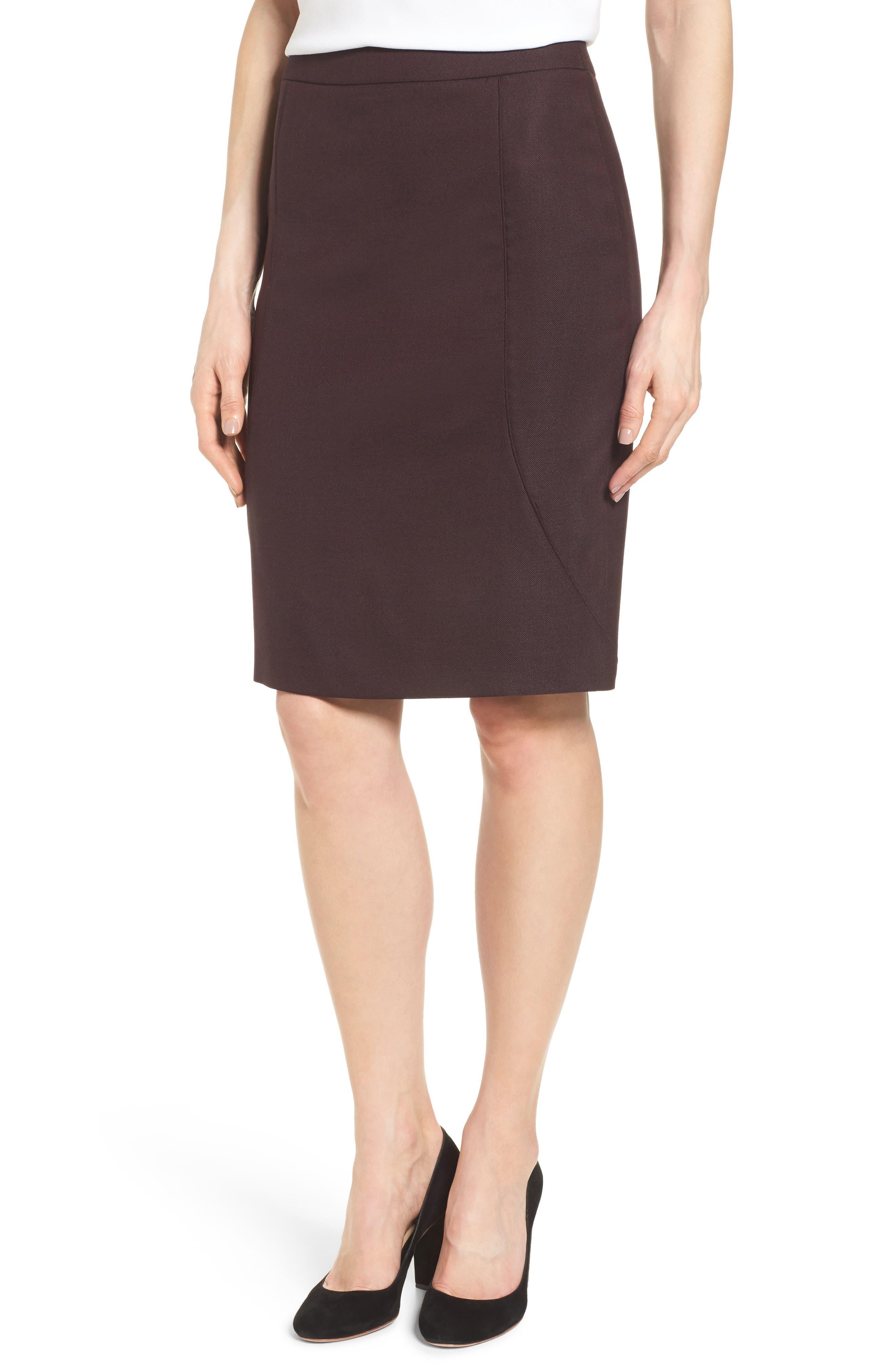 BOSS Venesa Suit Skirt