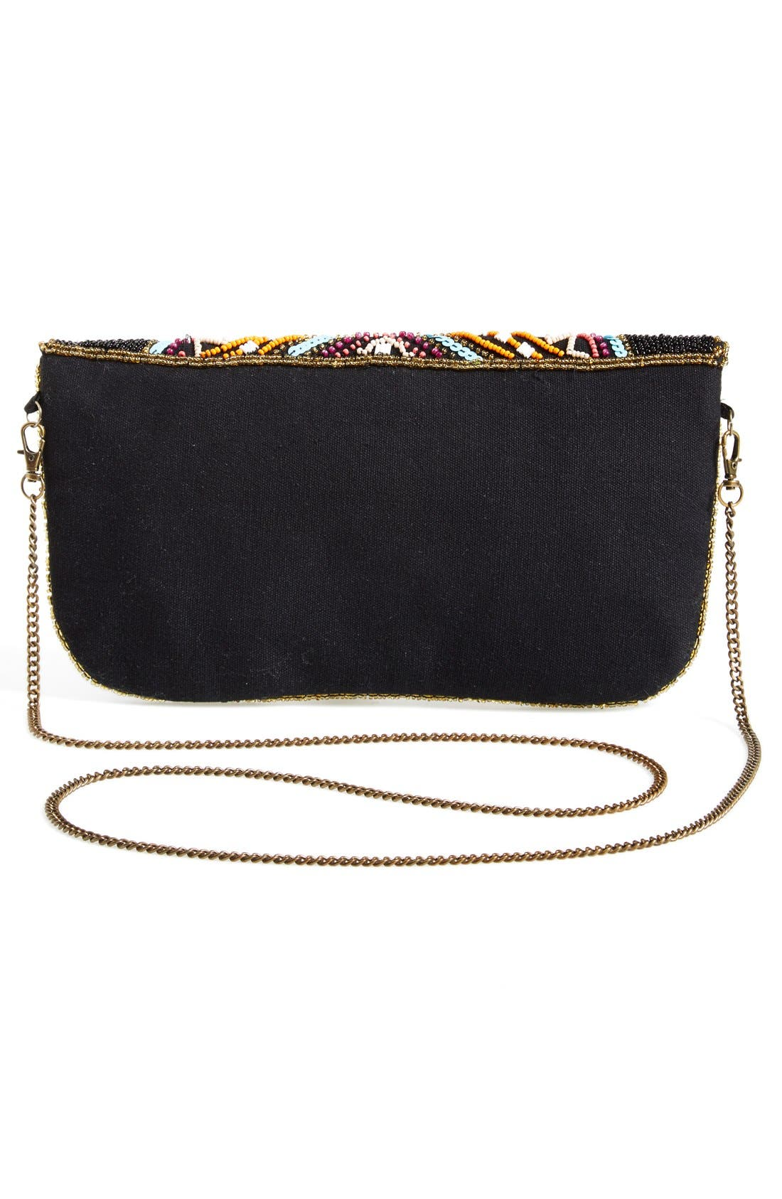 Alternate Image 4  - Street Level Beaded Crossbody Bag