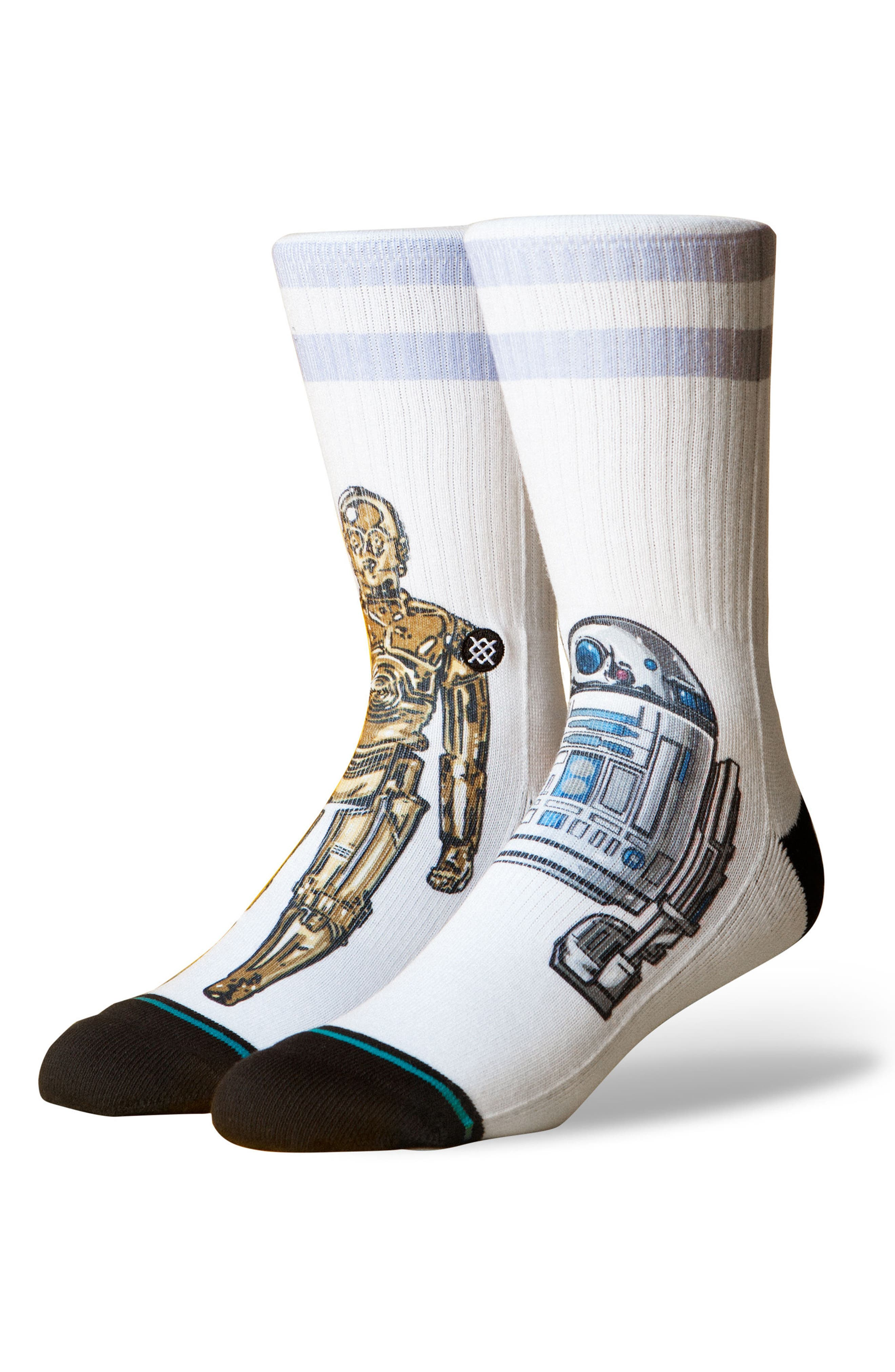 Star Wars<sup>™</sup> Prime Condition Socks,                             Main thumbnail 1, color,                             White