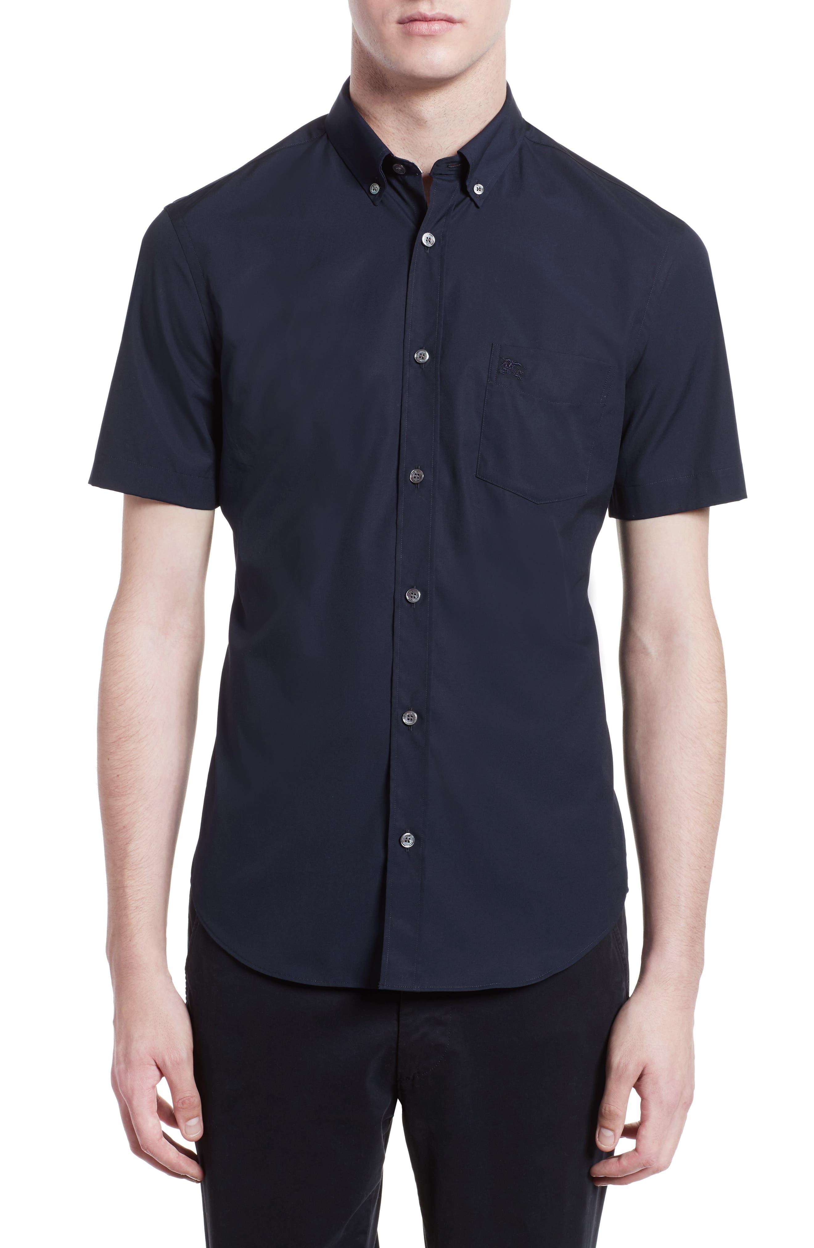 Cambridge Aboyd Sport Shirt,                             Main thumbnail 1, color,                             Navy