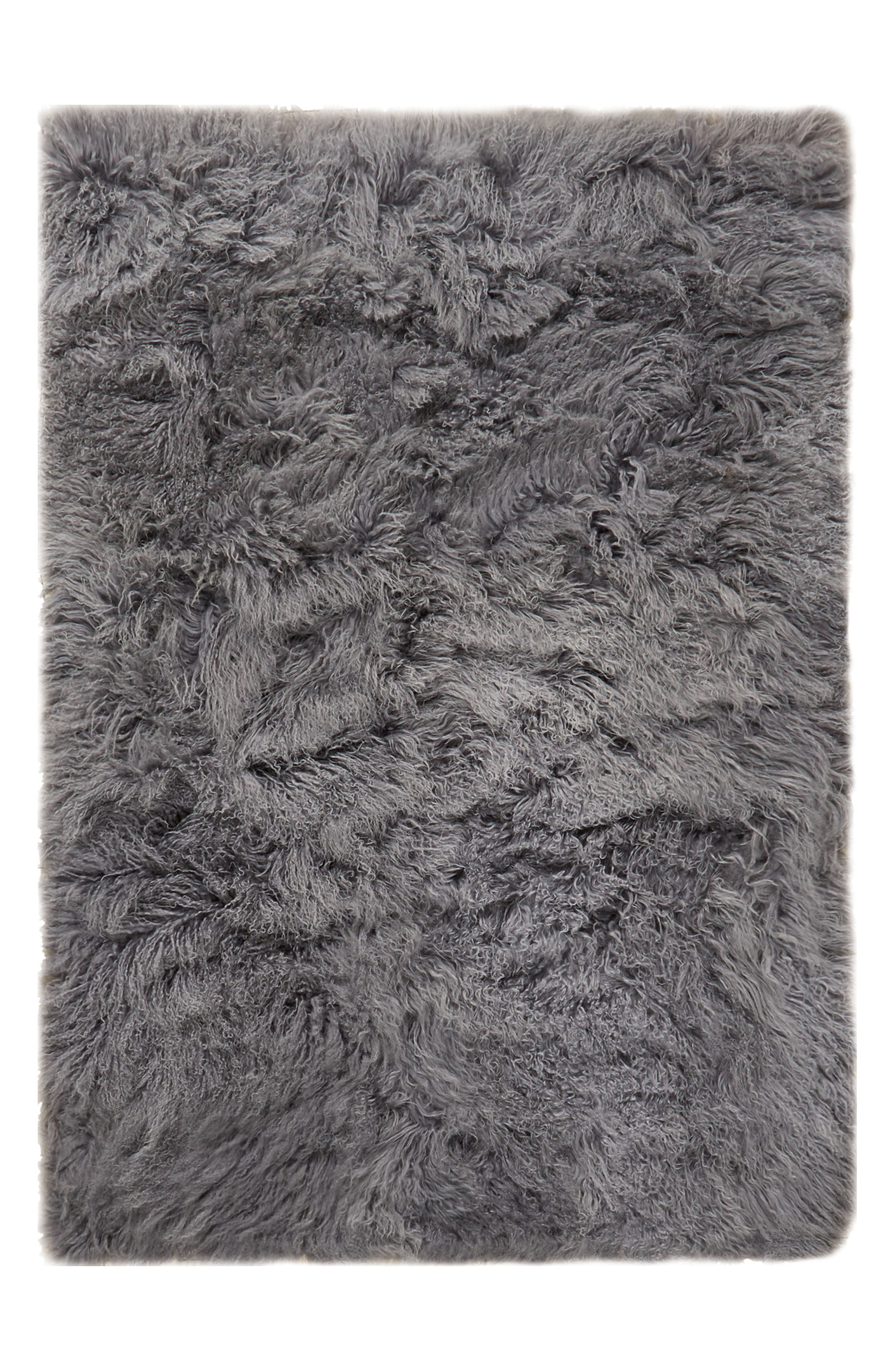 Alternate Image 1 Selected - Calvin Klein Moritz Matterhorn Genuine Shearling Area Rug
