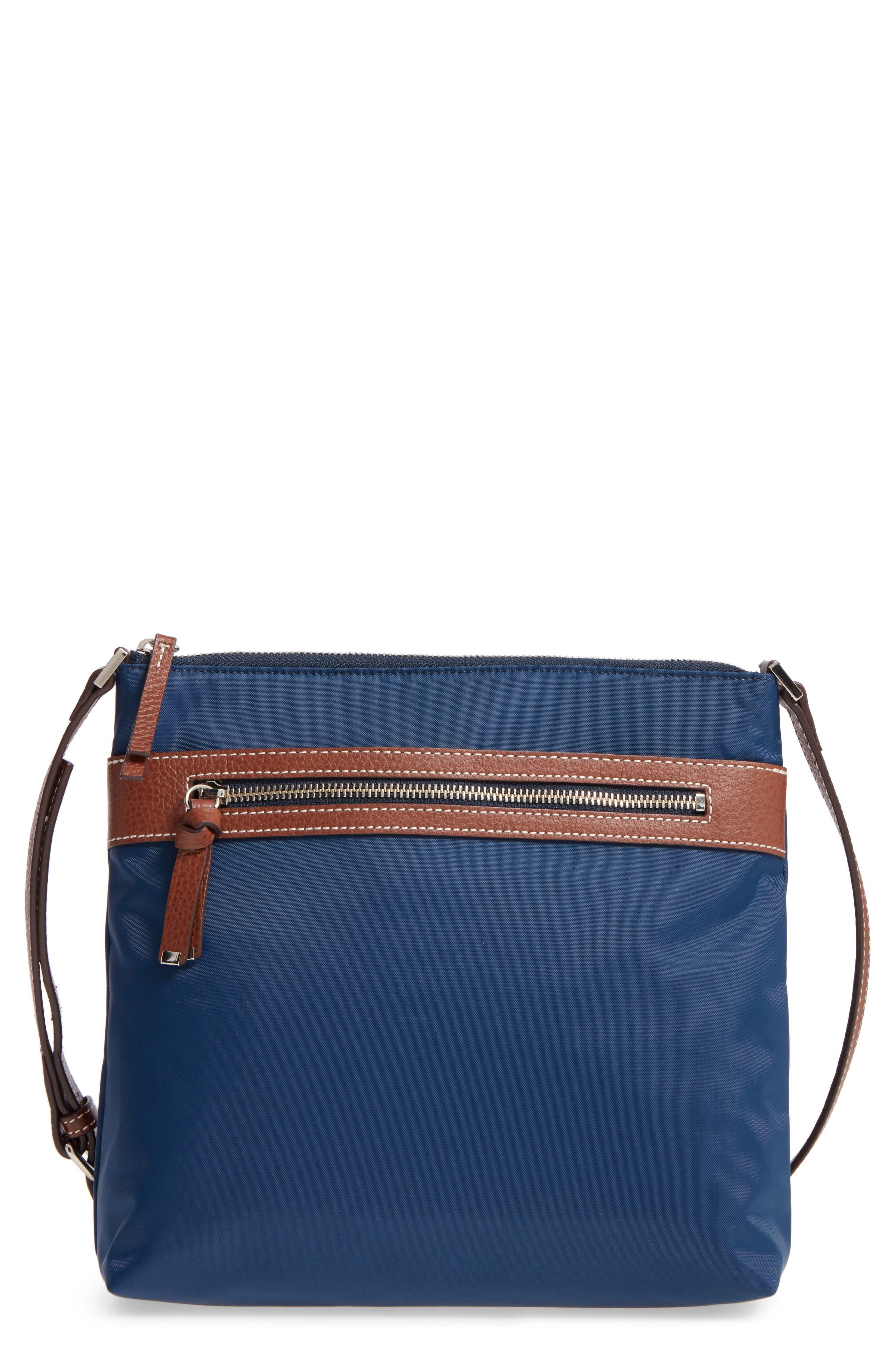 Halogen Nylon Crossbody Bag