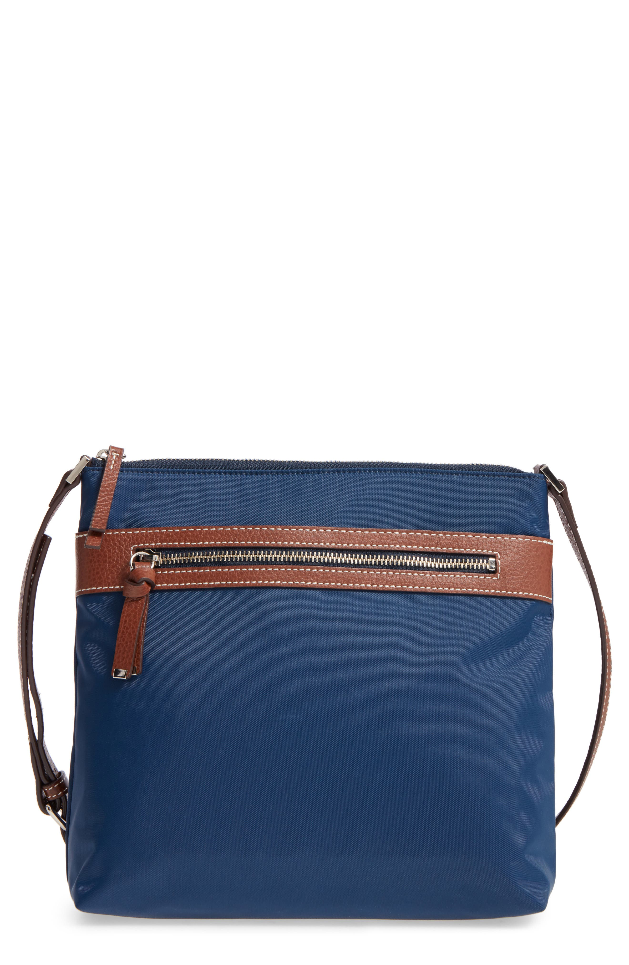 Halogen Nylon Crossbody Bag