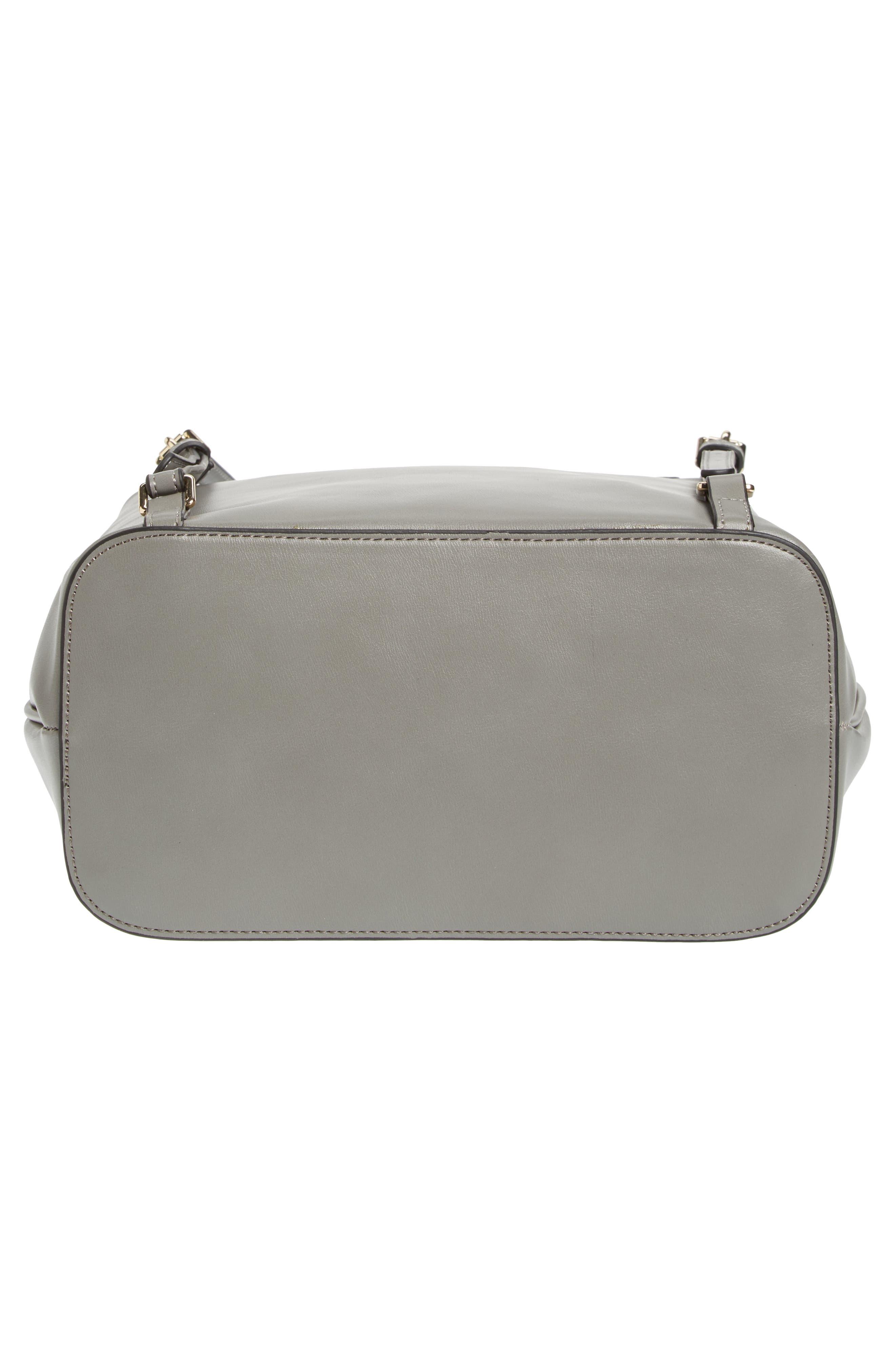Alternate Image 6  - Topshop Barnet Faux Leather Backpack