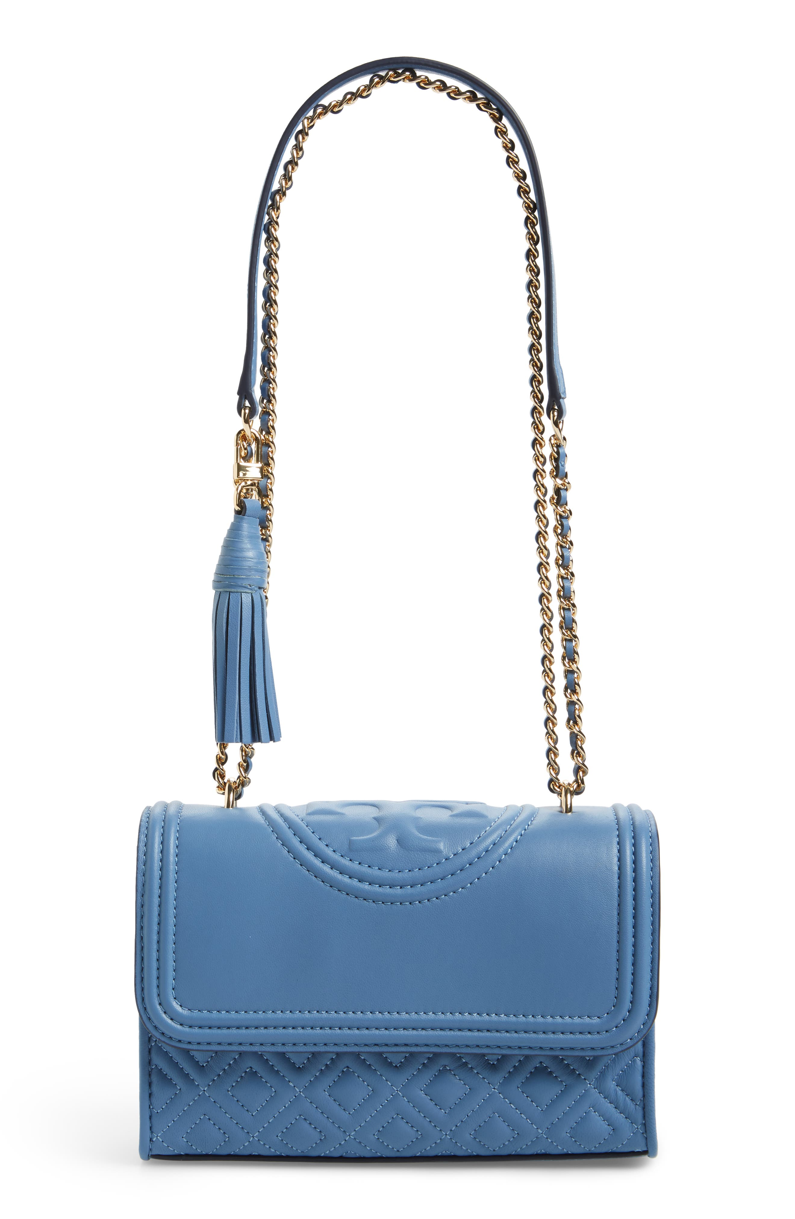 Alternate Image 1 Selected - Tory Burch Fleming Convertible Leather Shoulder Bag