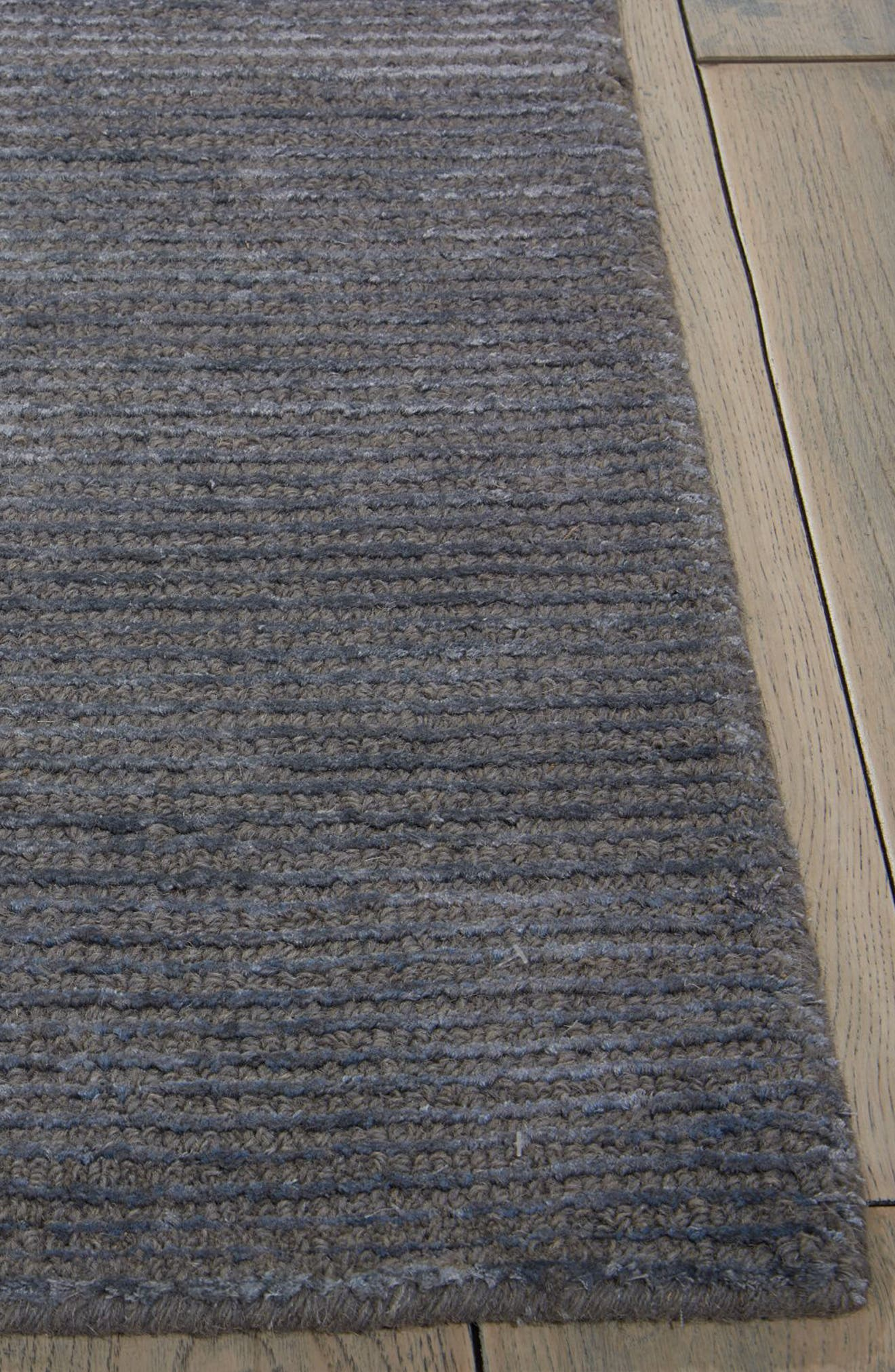 Ravine Furrow Handwoven Area Rug,                             Alternate thumbnail 3, color,                             Dusk