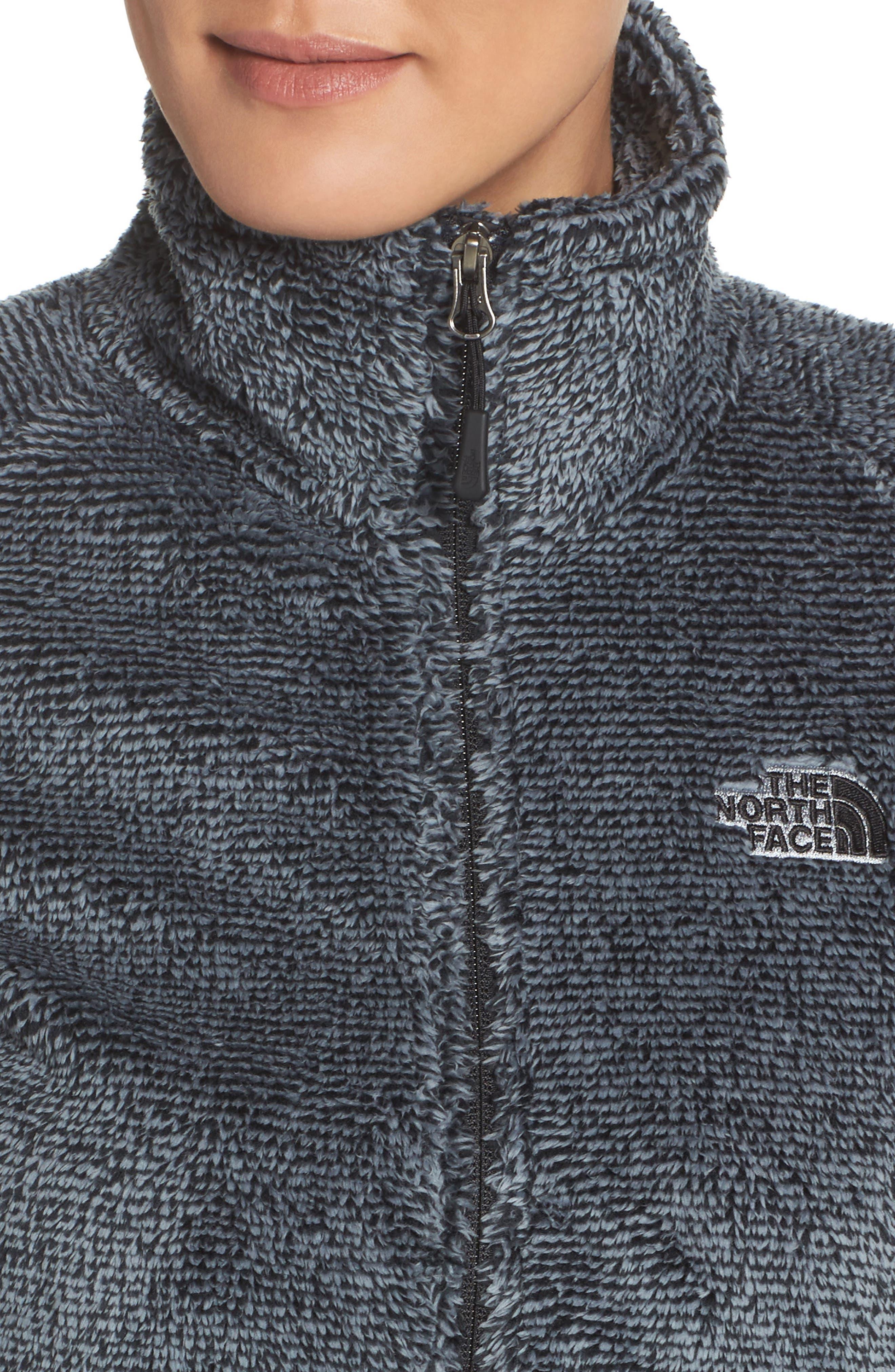 'Osito 2' Jacket,                             Alternate thumbnail 4, color,                             Tnf Black/ Mid Grey Stripe