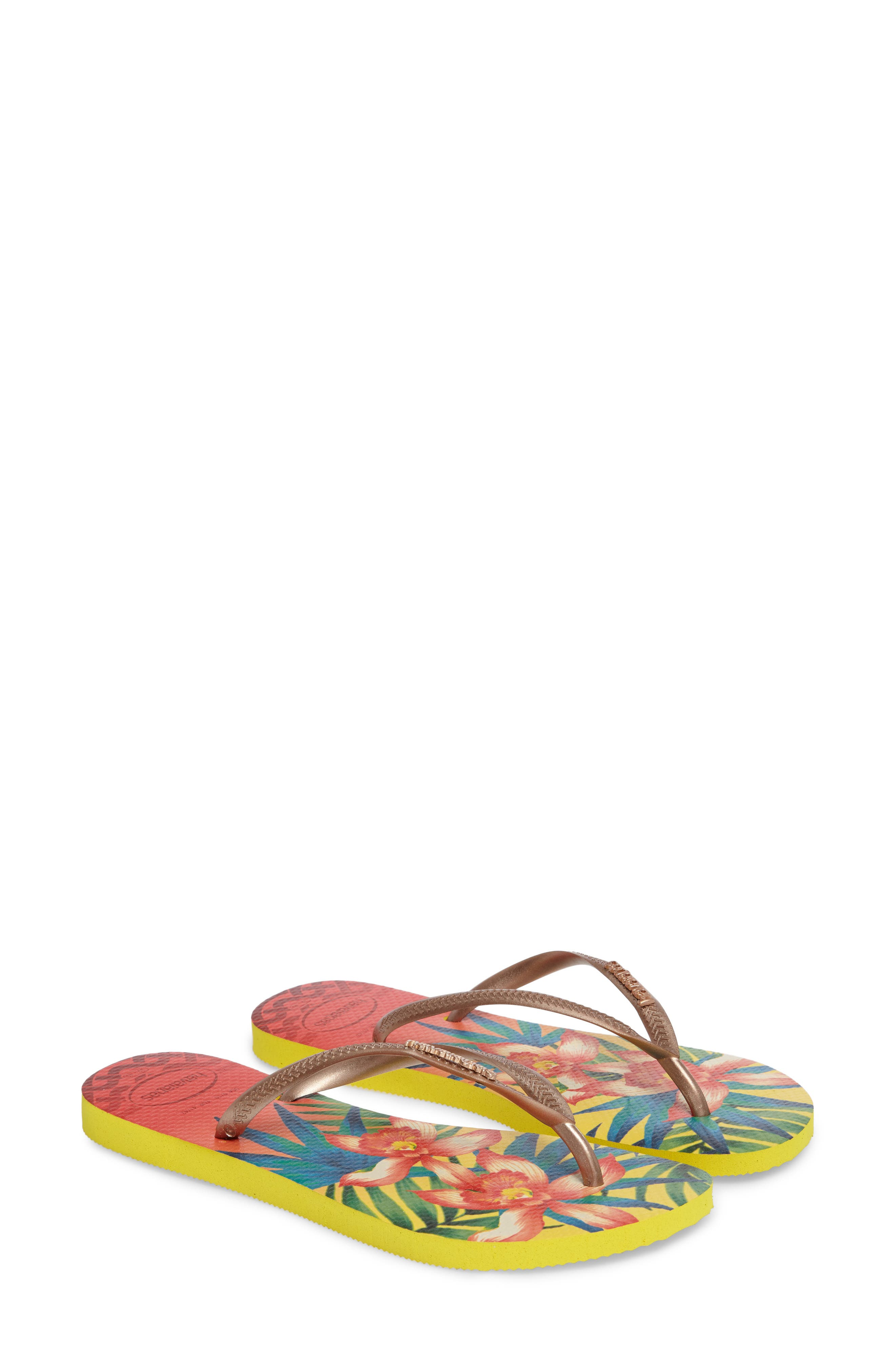 Havaianas 'Slim Tropical' Flip Flop (Women)