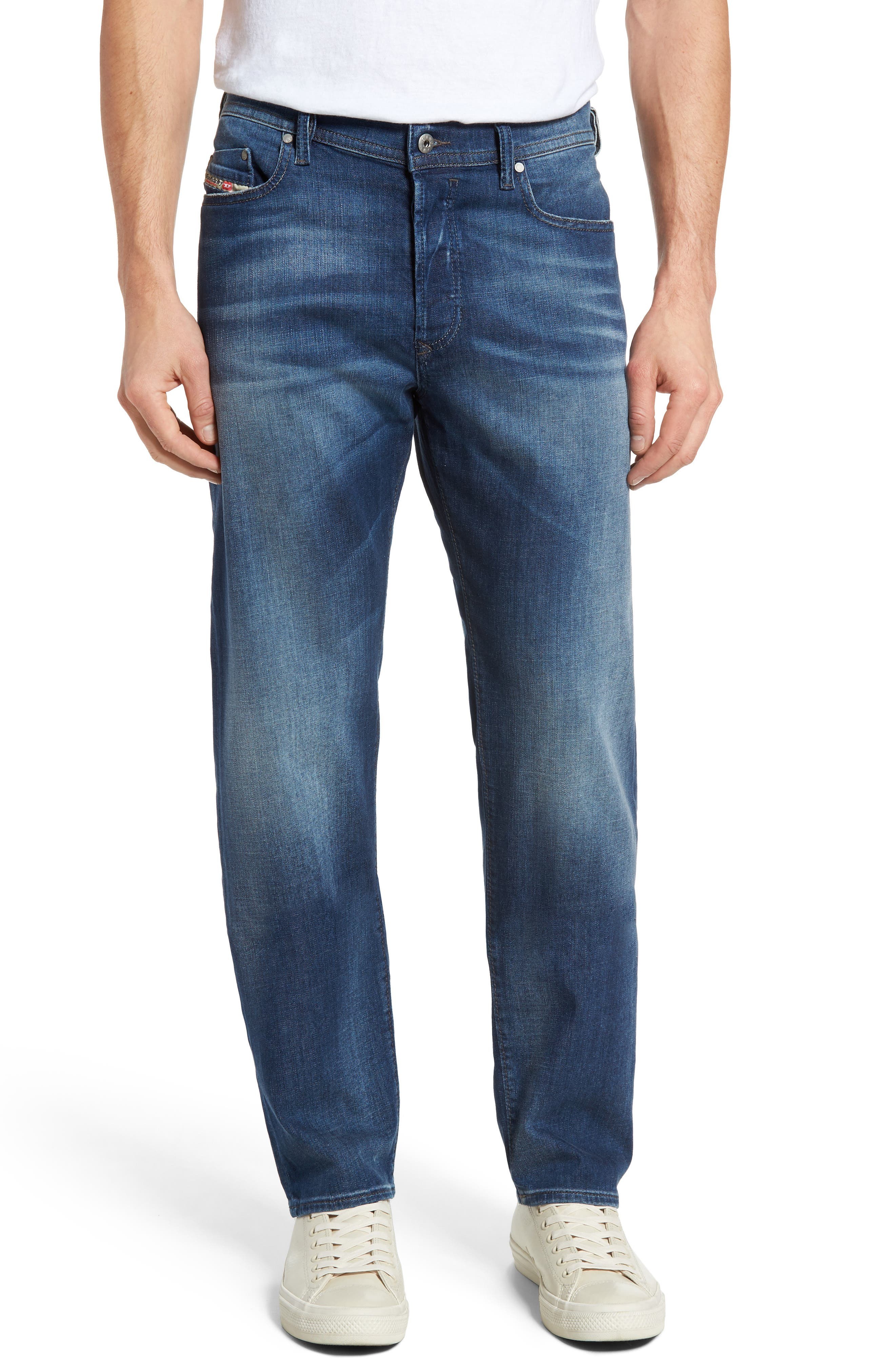 DIESEL<SUP>®</SUP> Thytan Straight Leg Jeans