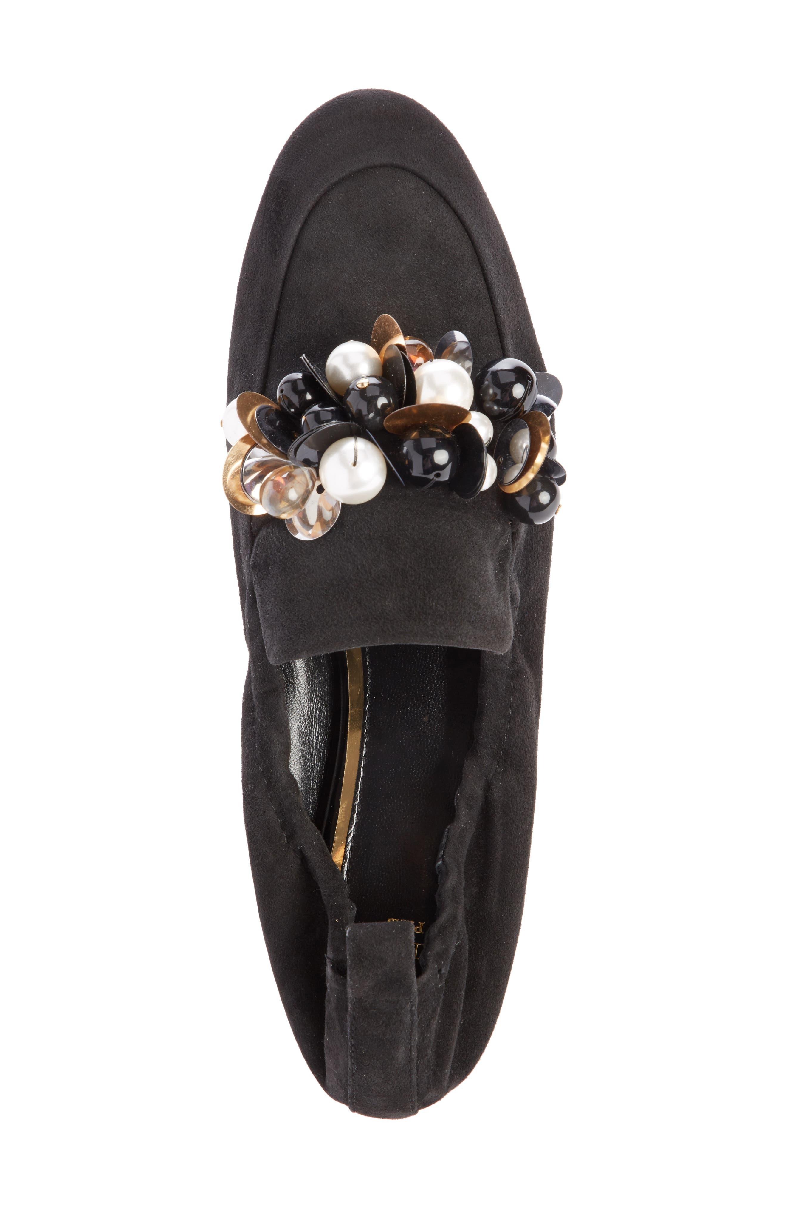Alternate Image 3  - Lanvin Pearl Slipper Loafer (Women)