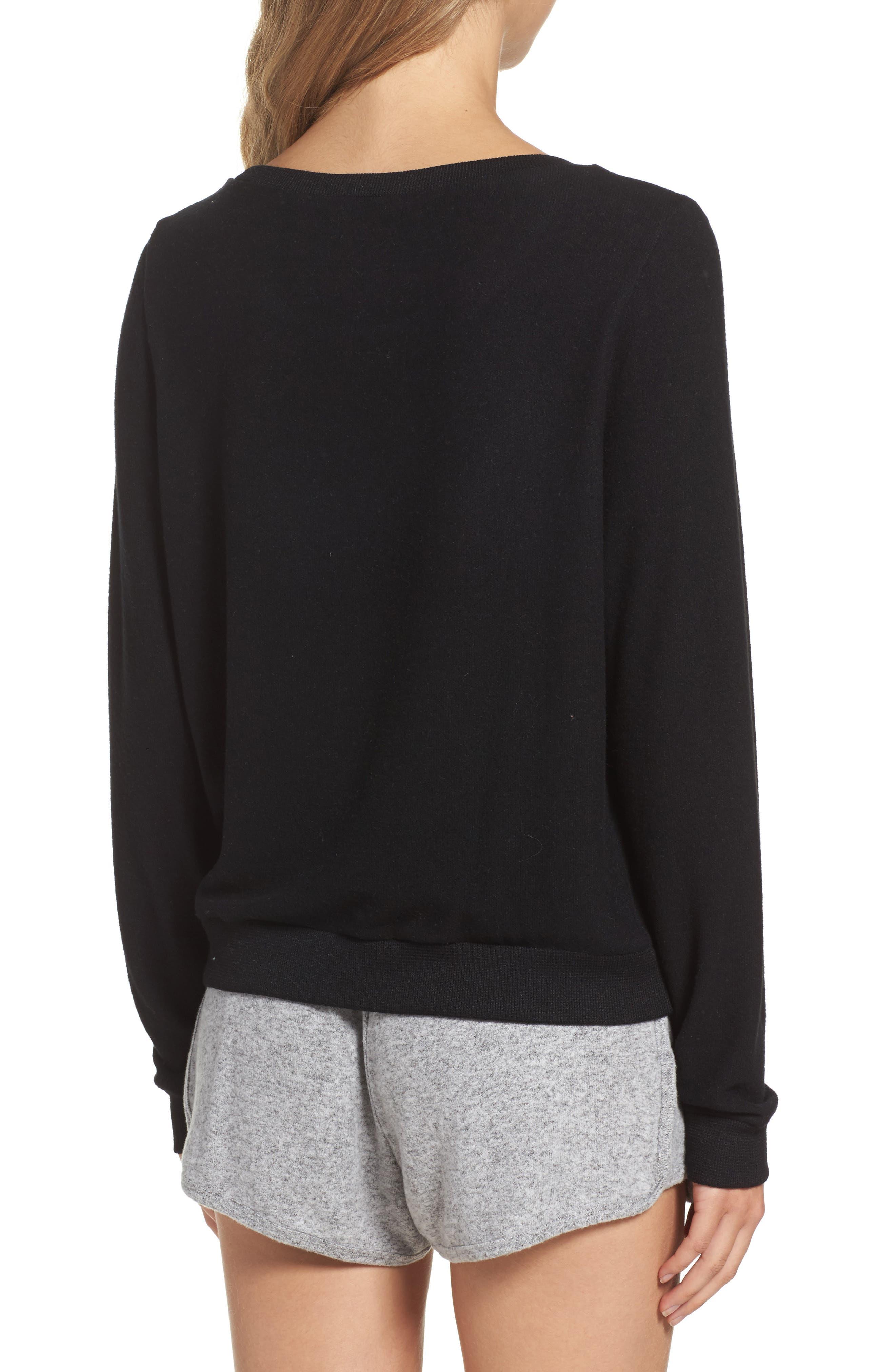 Alternate Image 2  - Make + Model Brushed Hacci Sweatshirt