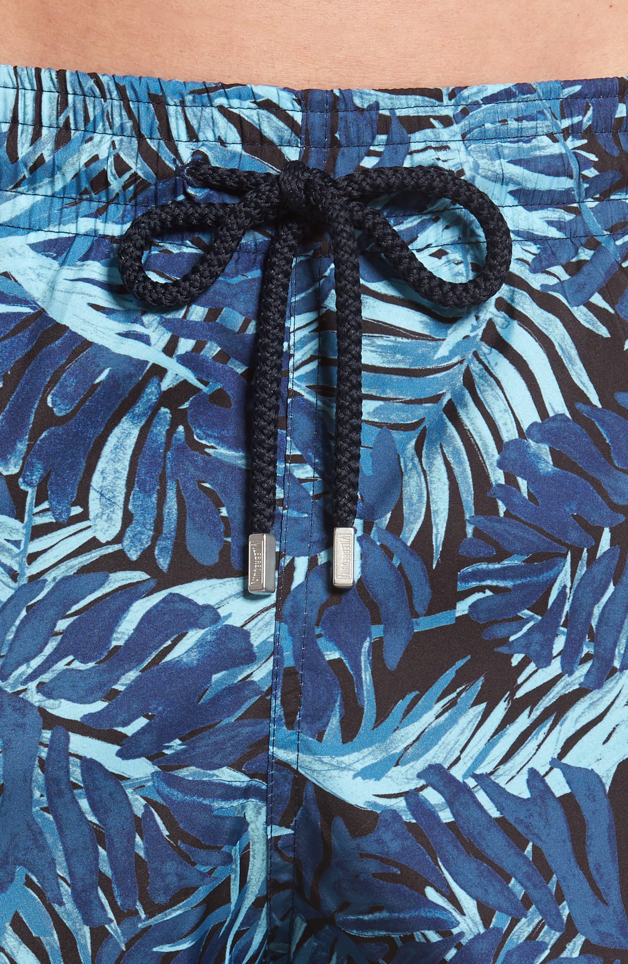 Alternate Image 4  - Vilebrequin Mahina Madrague Print Packable Swim Trunks