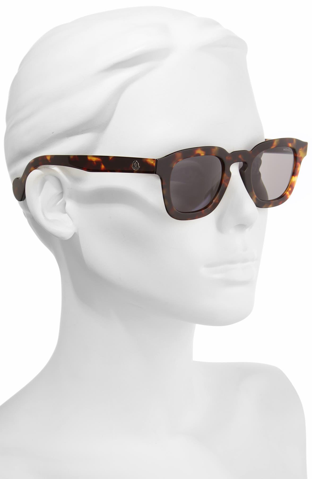 47mm Sunglasses,                             Alternate thumbnail 2, color,                             Dark Havana / Smoke
