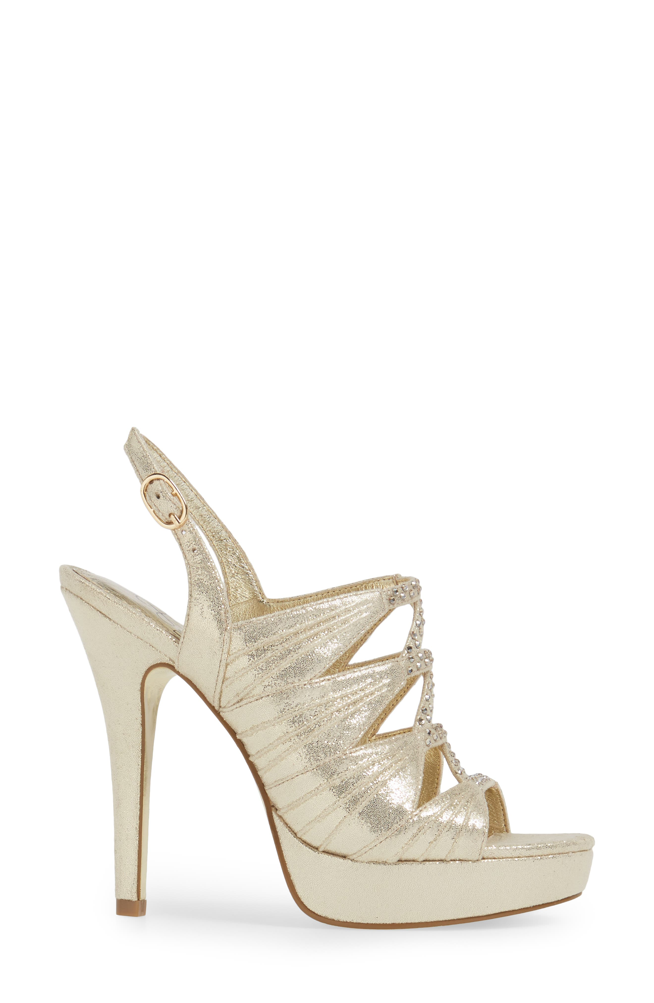 Alternate Image 3  - Adrianna Pappell Marissa Platform Sandal (Women)