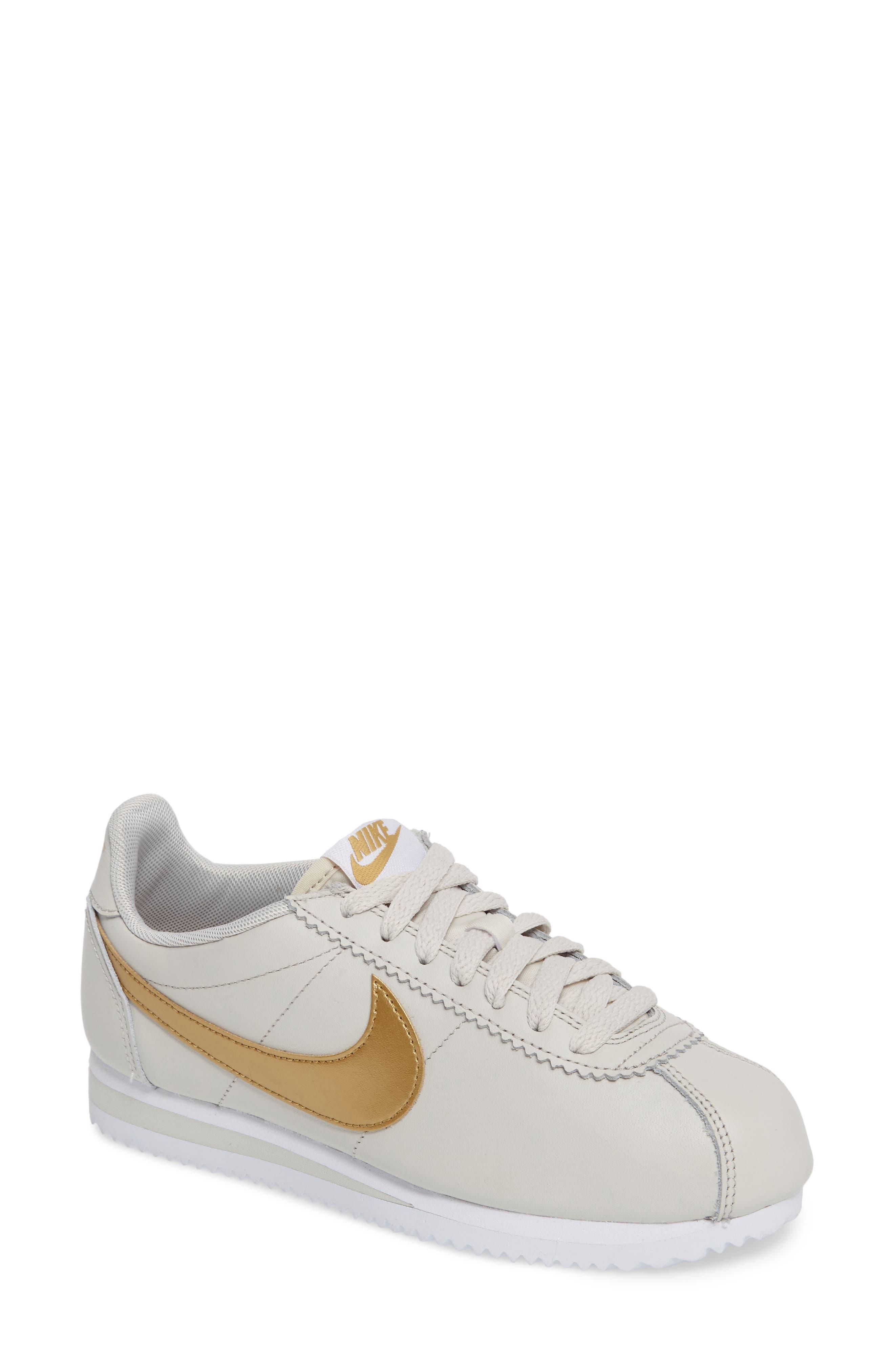 'Classic Cortez' Sneaker,                         Main,                         color, Bone