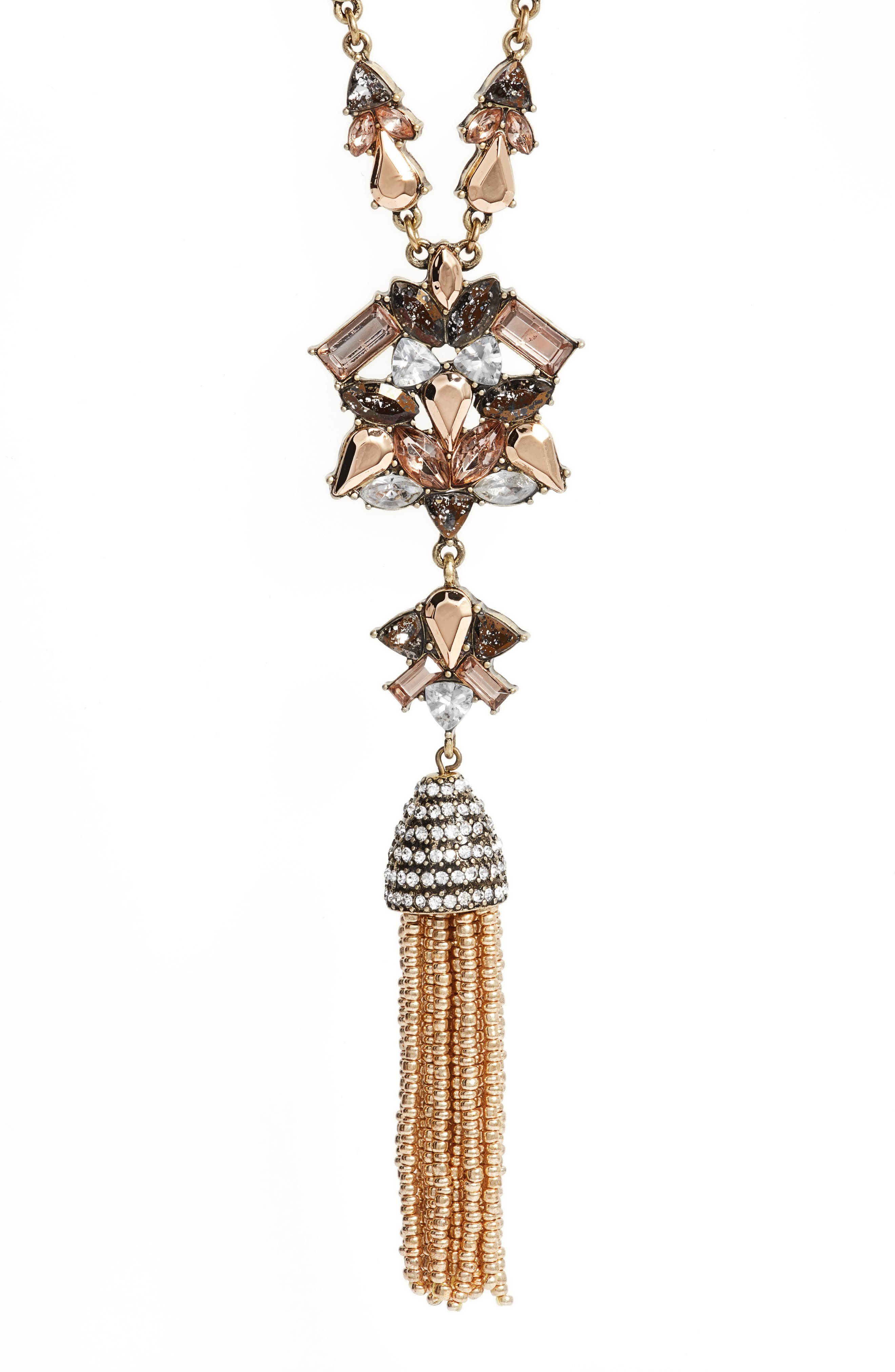 Alternate Image 2  - Baublebar Cosma Tassel Pendant Necklace