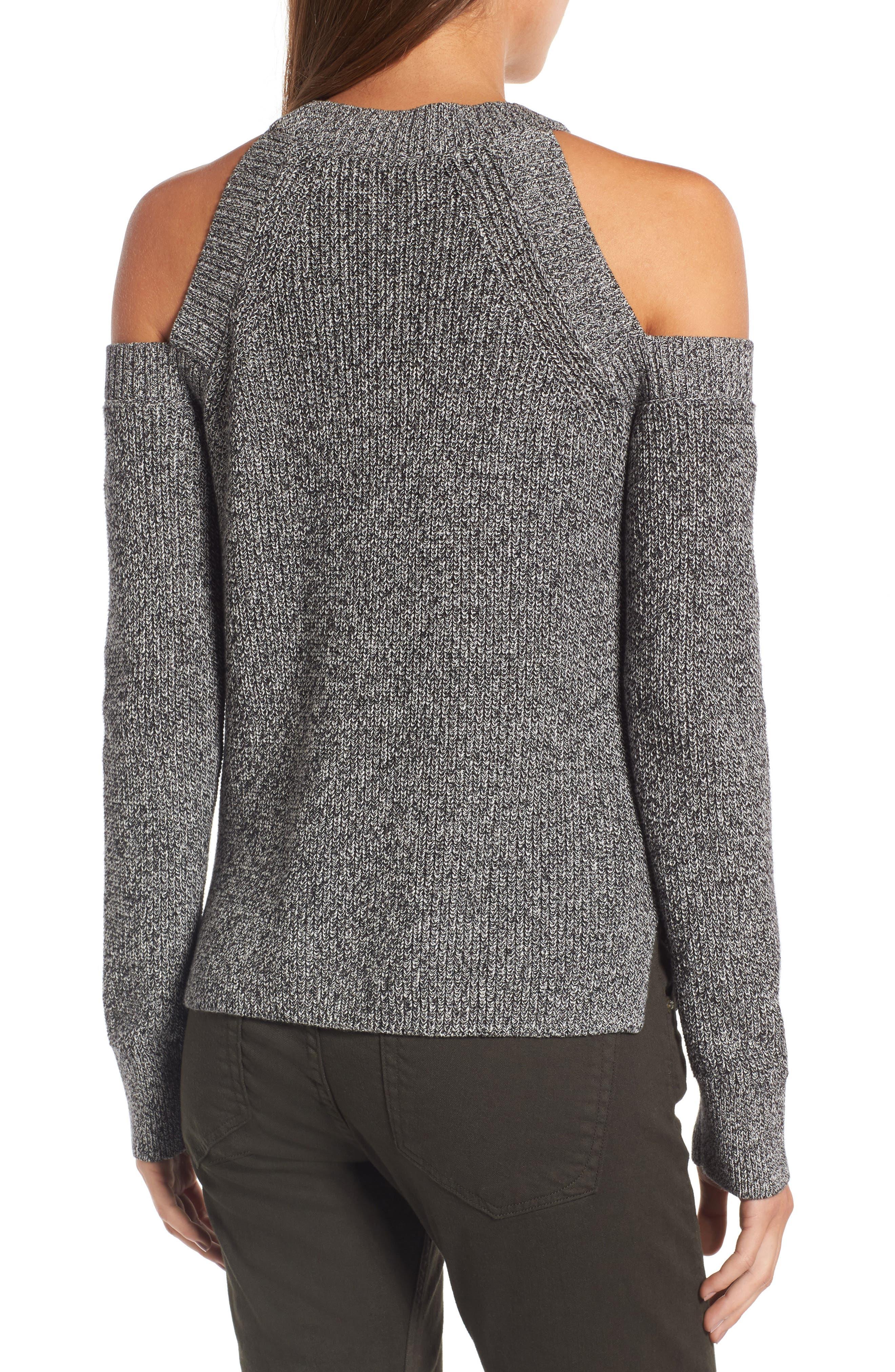 Alternate Image 2  - rag & bone/JEAN Dana Cold Shoulder Sweater