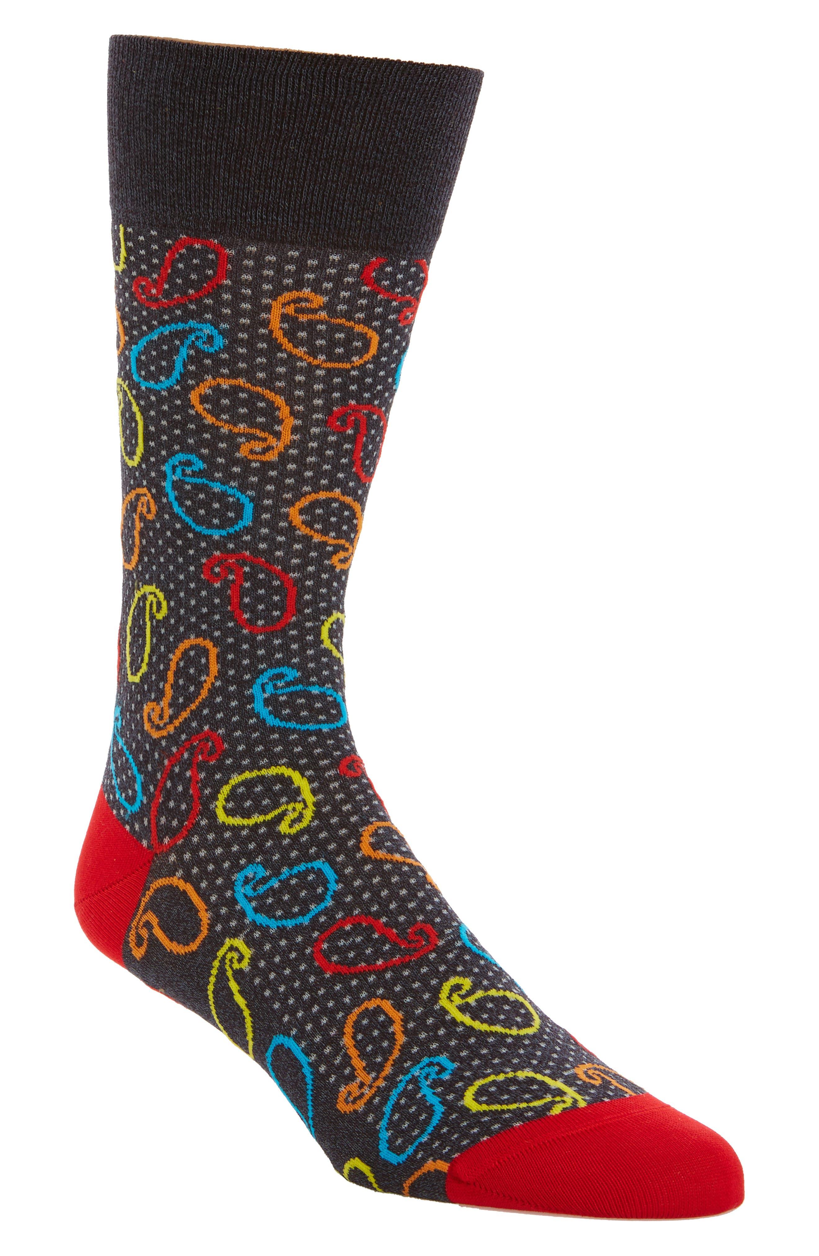 Bugatchi Paisley Socks