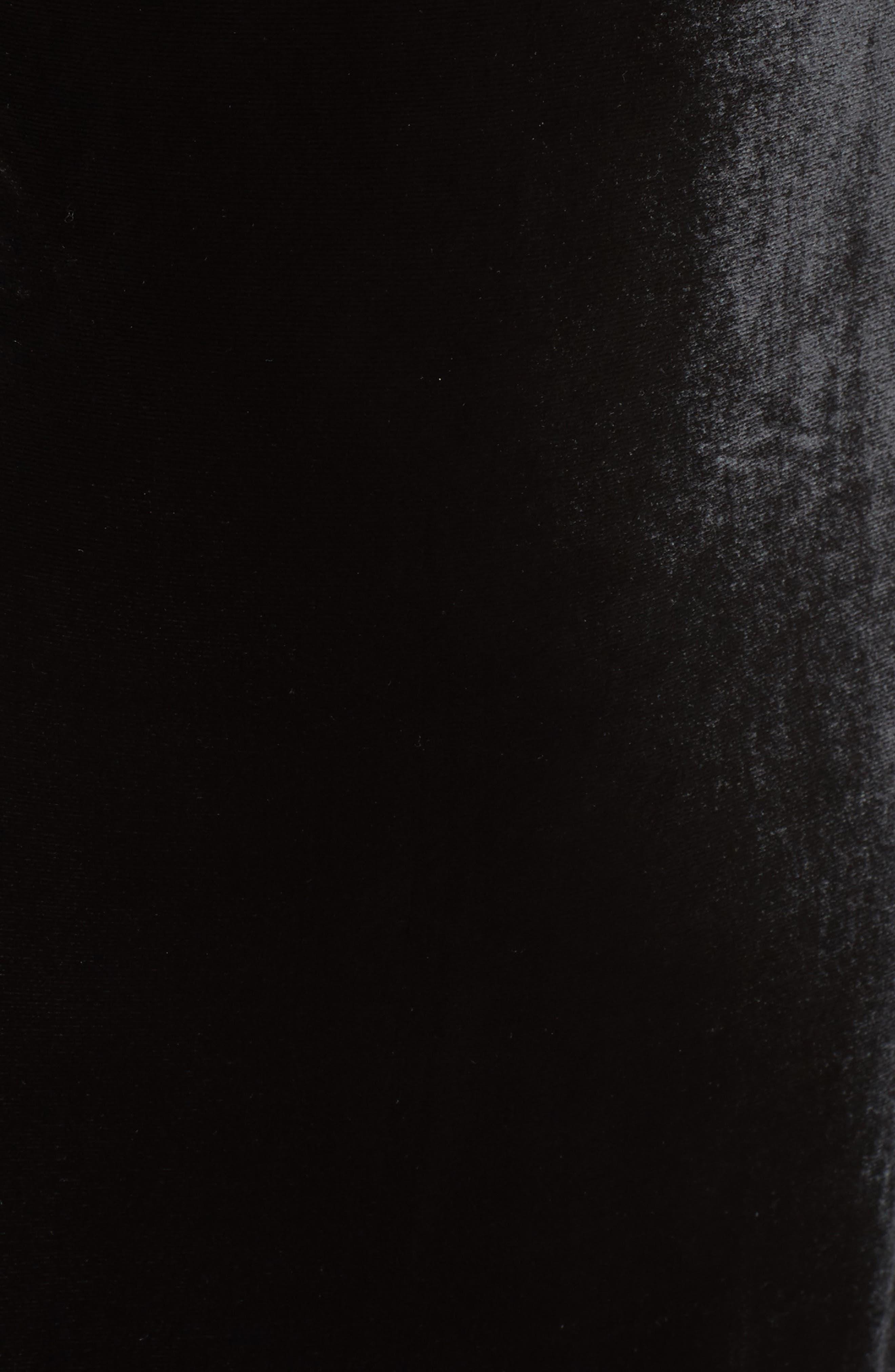 Alternate Image 5  - Rachel Gilbert Violetta Velvet Off the Shoulder Gown