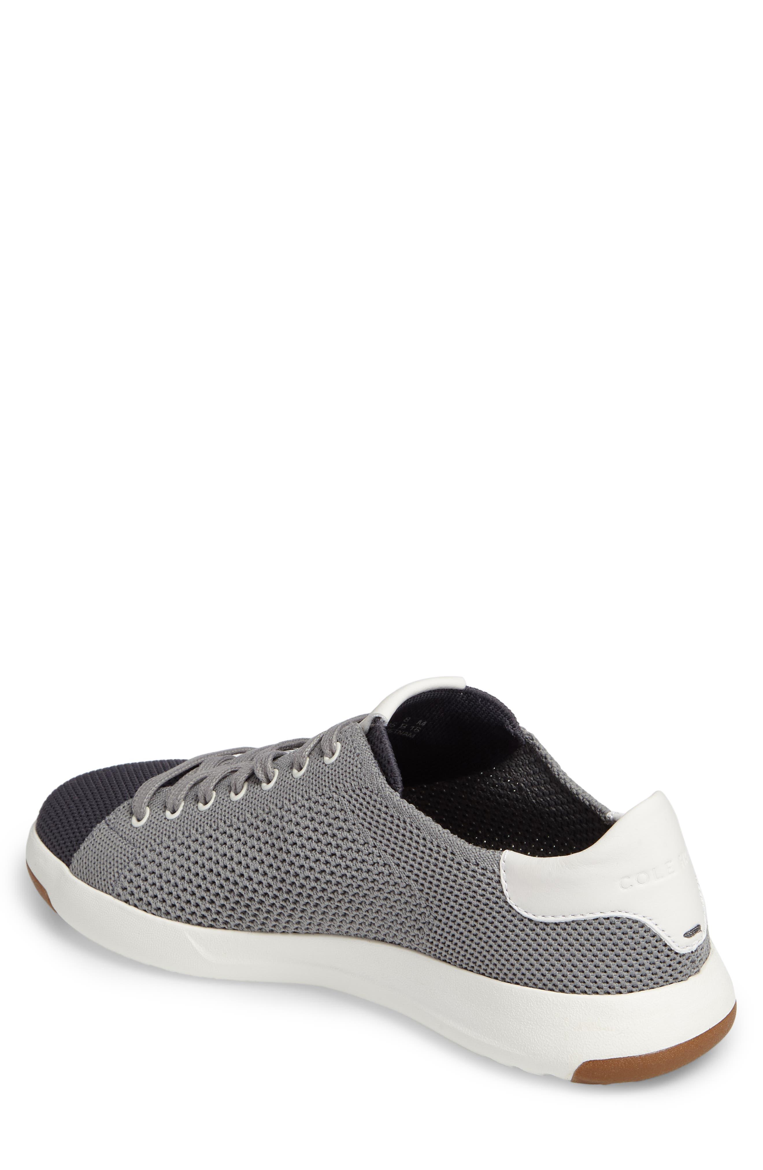 GrandPrø Stitchlite Tennis Sneaker,                             Alternate thumbnail 2, color,                             Magnet Grey Fabric