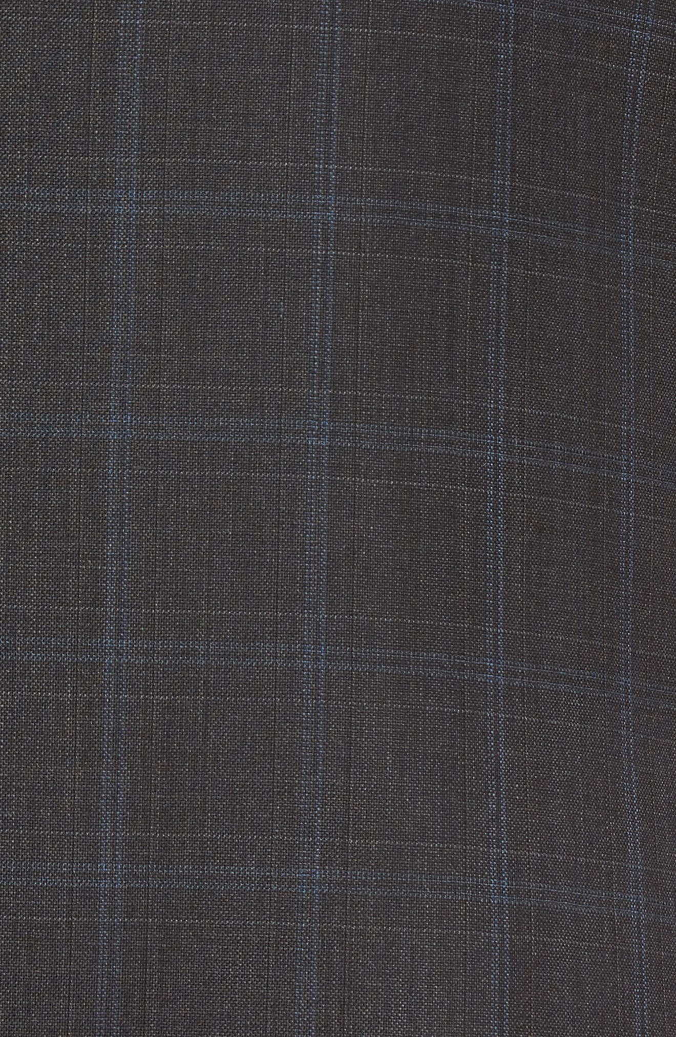 Alternate Image 7  - Hart Schaffner Marx New York Classic Fit Plaid Wool Suit
