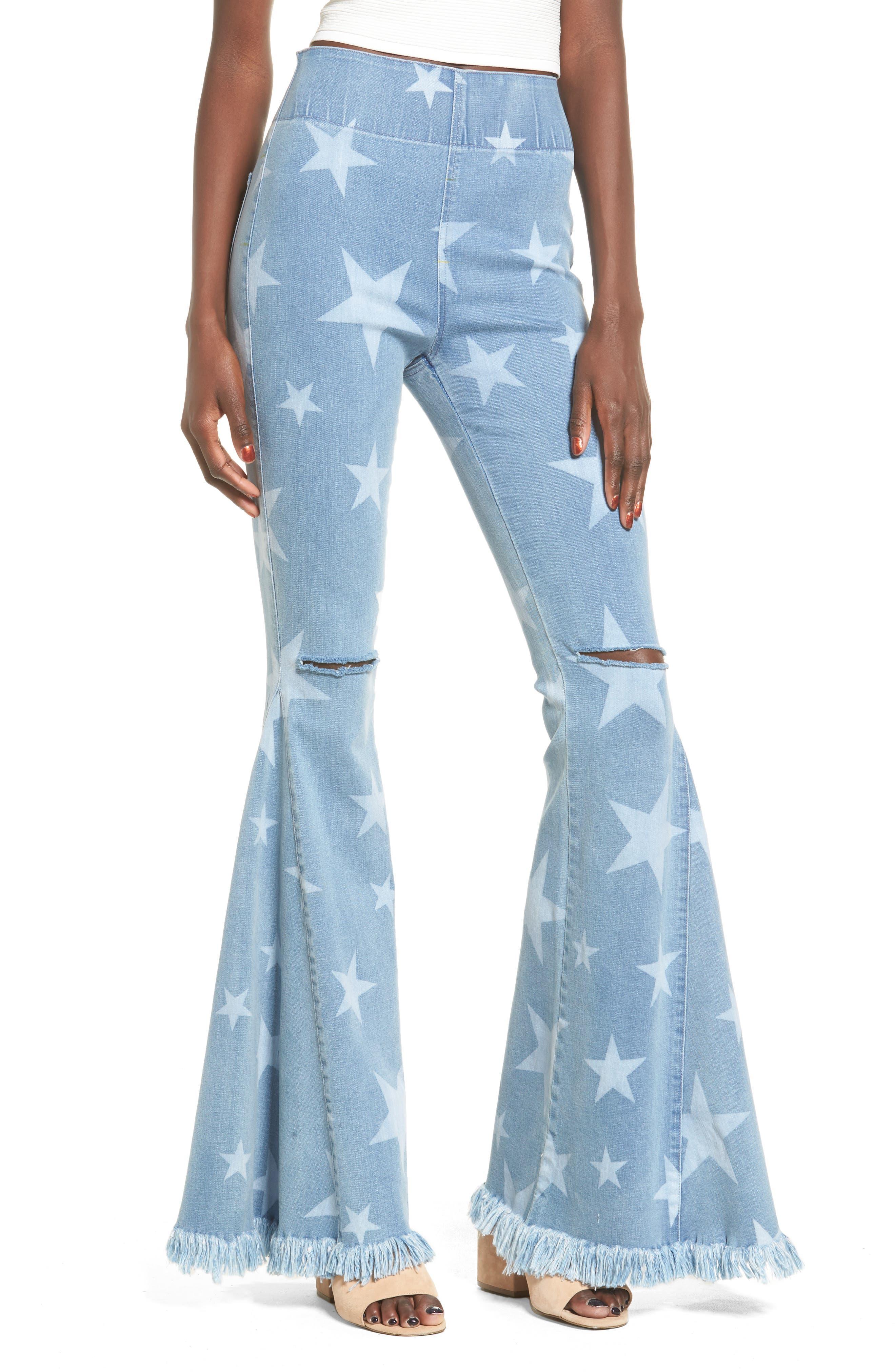Show Me Your Mumu Berkley Flare Leg Jeans