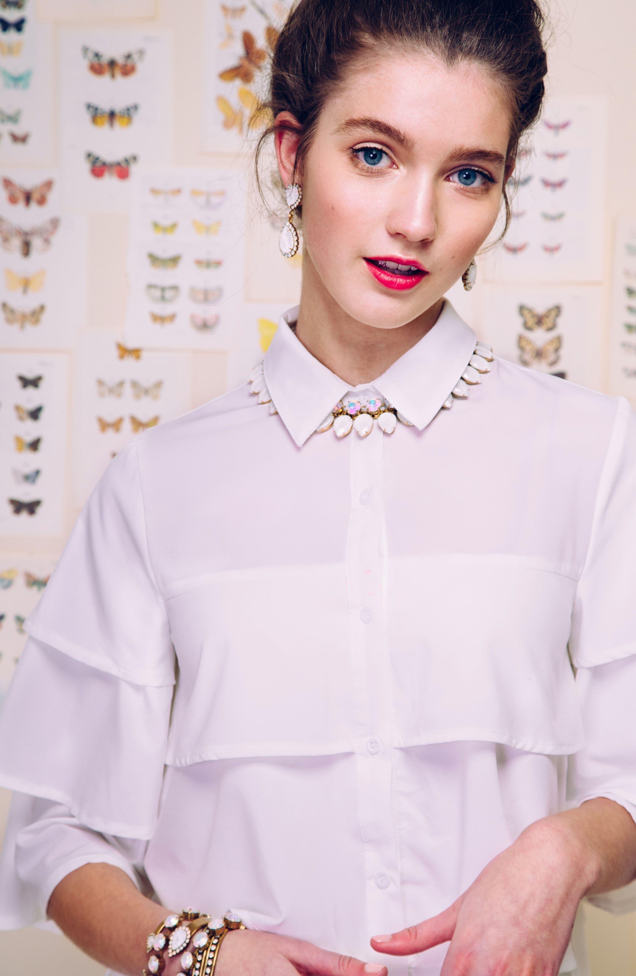Alternate Image 3  - Loren Hope 'Clara' Crystal Bracelet